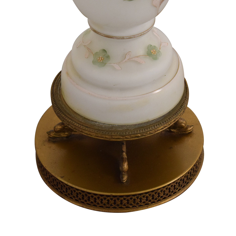 buy Vintage Floral Lamp  Lamps