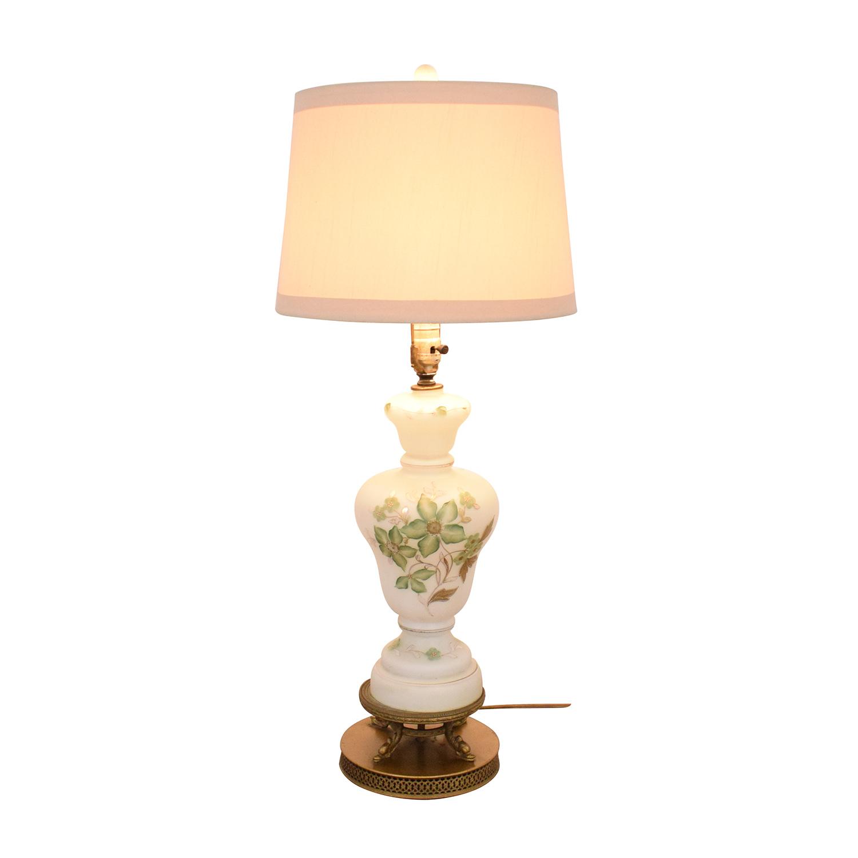 buy  Vintage Floral Lamp online