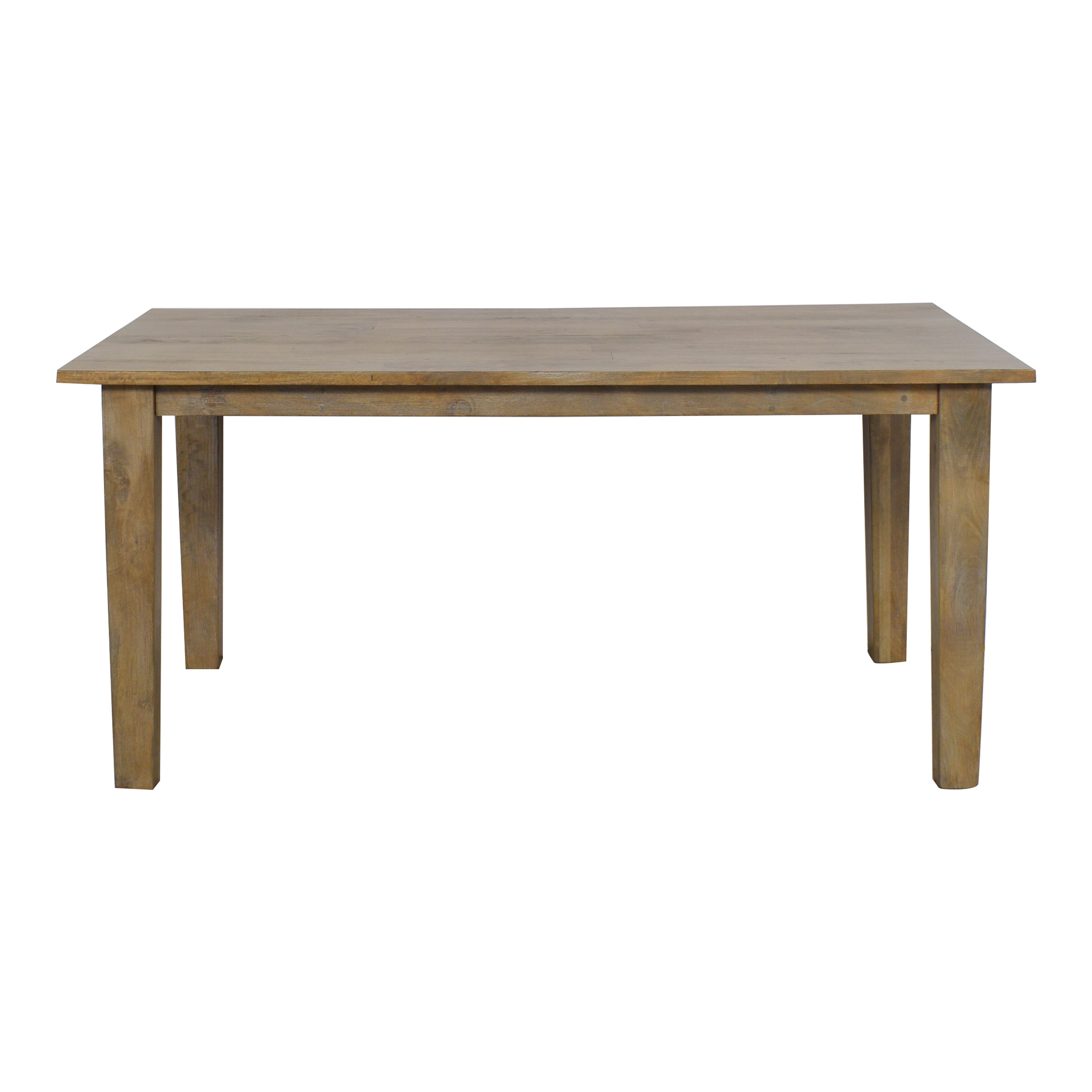 Crate & Barrel Crate & Barrel Basque Grey Wash Dining Table