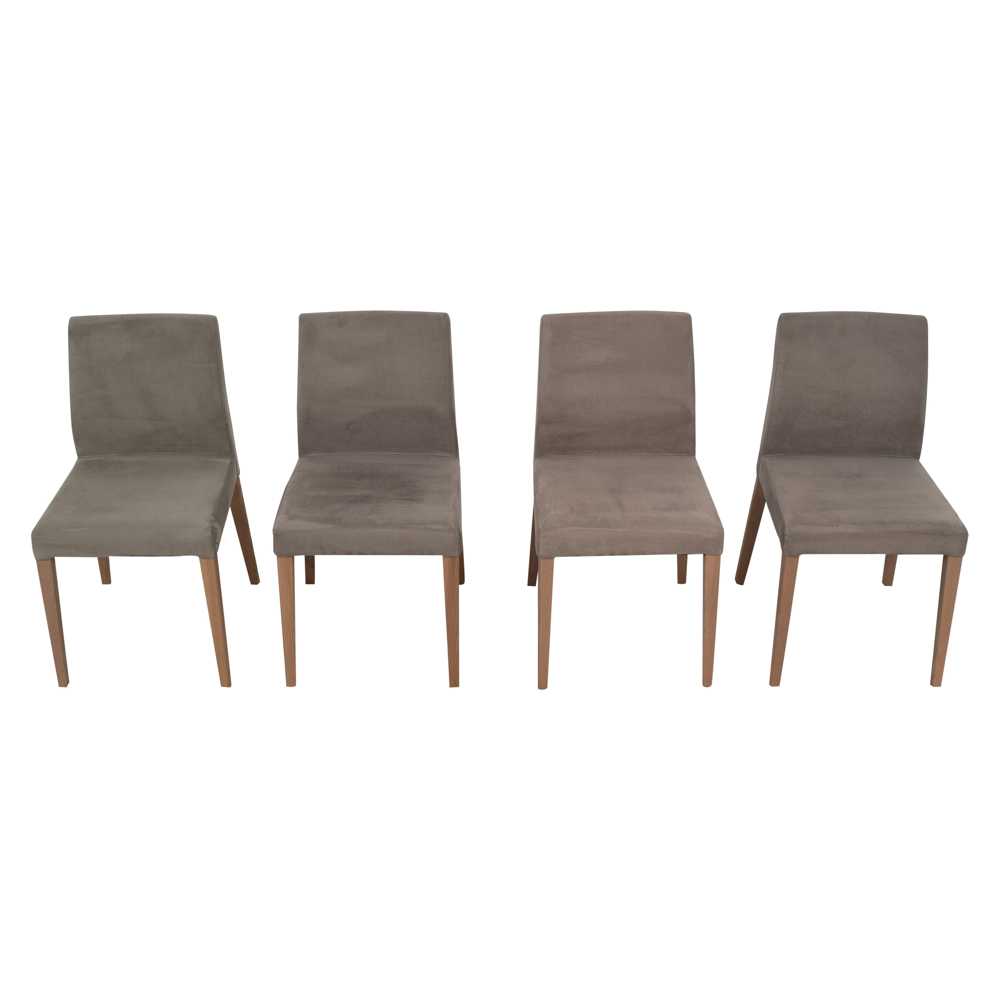 shop Crate & Barrel Lowe Upholstered Dining Chairs Crate & Barrel Dining Chairs