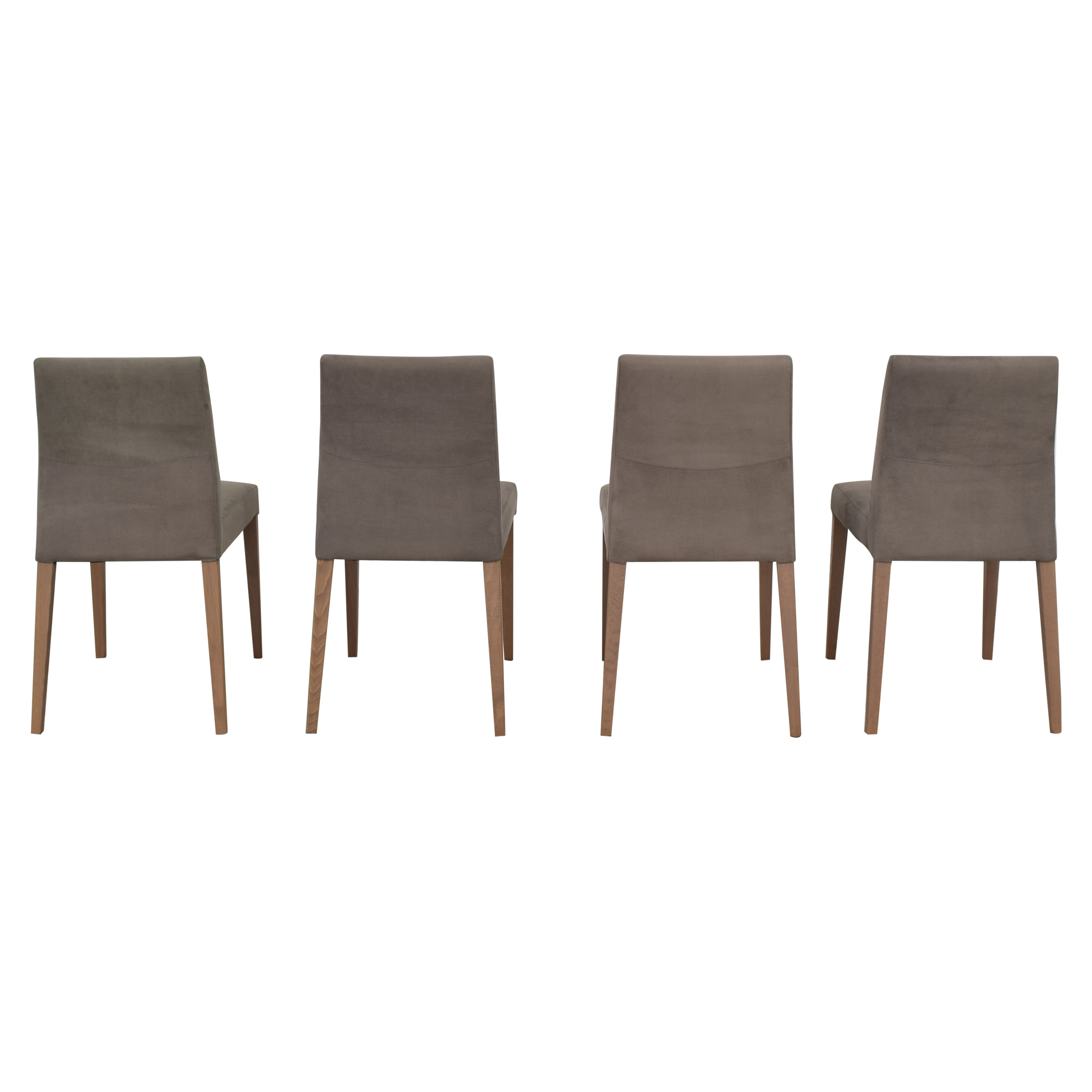 Crate & Barrel Crate & Barrel Lowe Upholstered Dining Chairs on sale