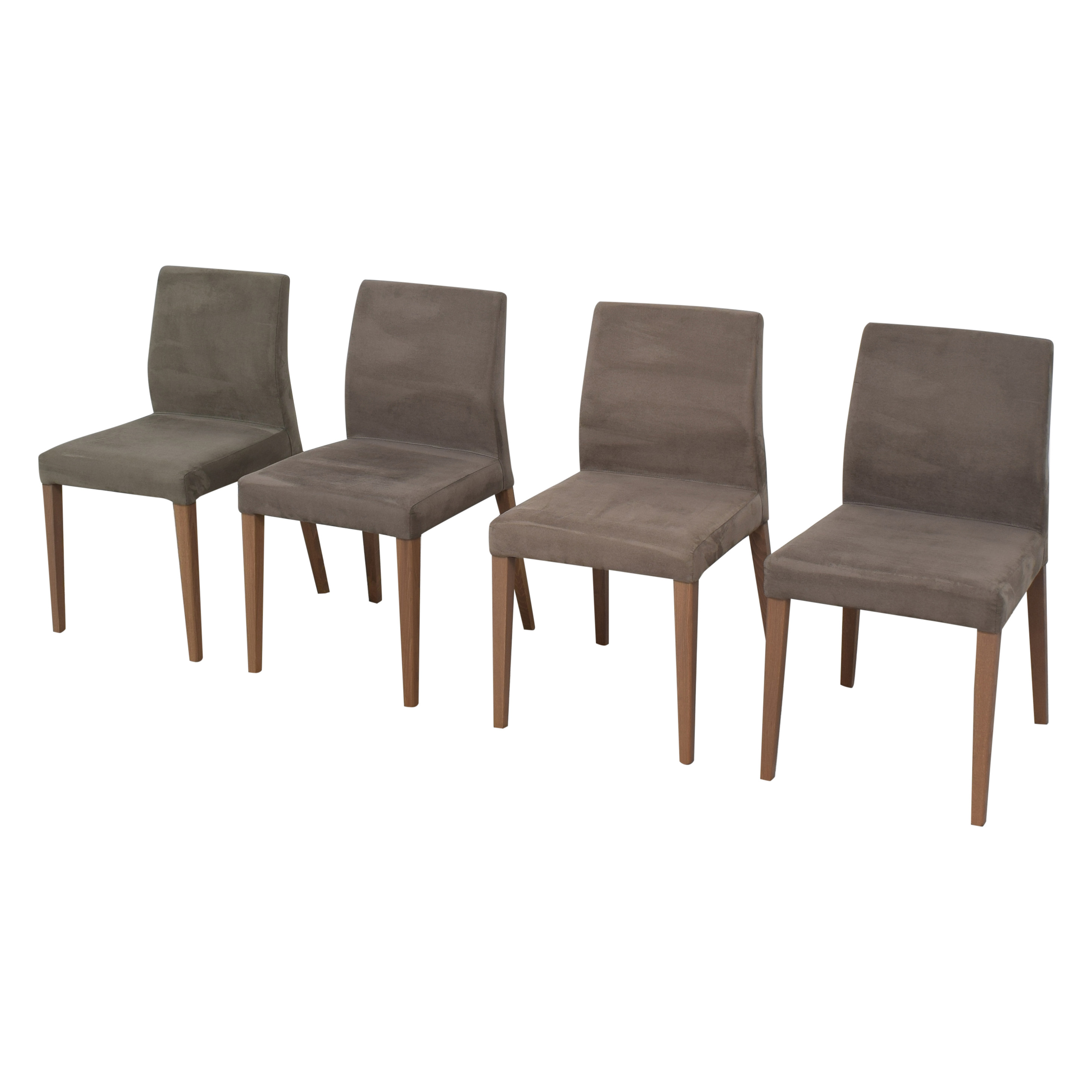 Crate & Barrel Crate & Barrel Lowe Upholstered Dining Chairs coupon