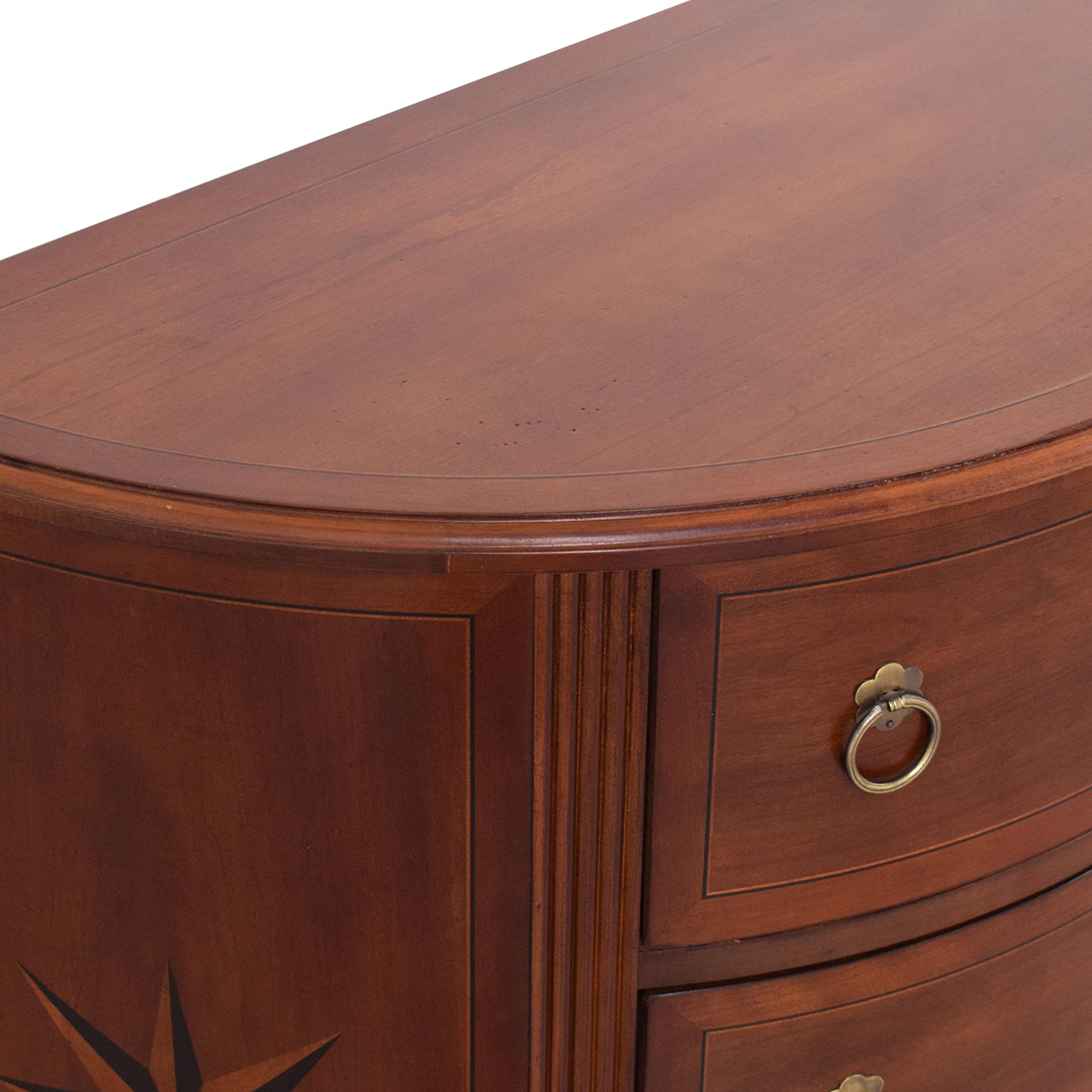 buy Nautica Home by Lexington Furniture Three Drawer Demi Lunes Lexington Furniture End Tables