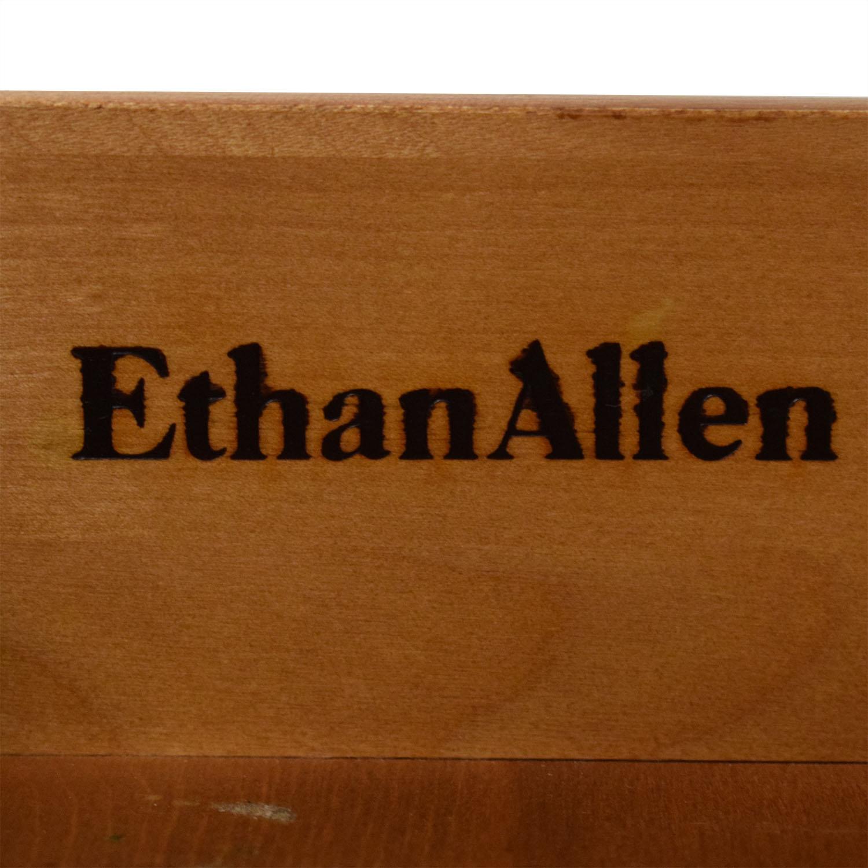 Ethan Allen Ethan Allen Three Drawer Nightstand brown