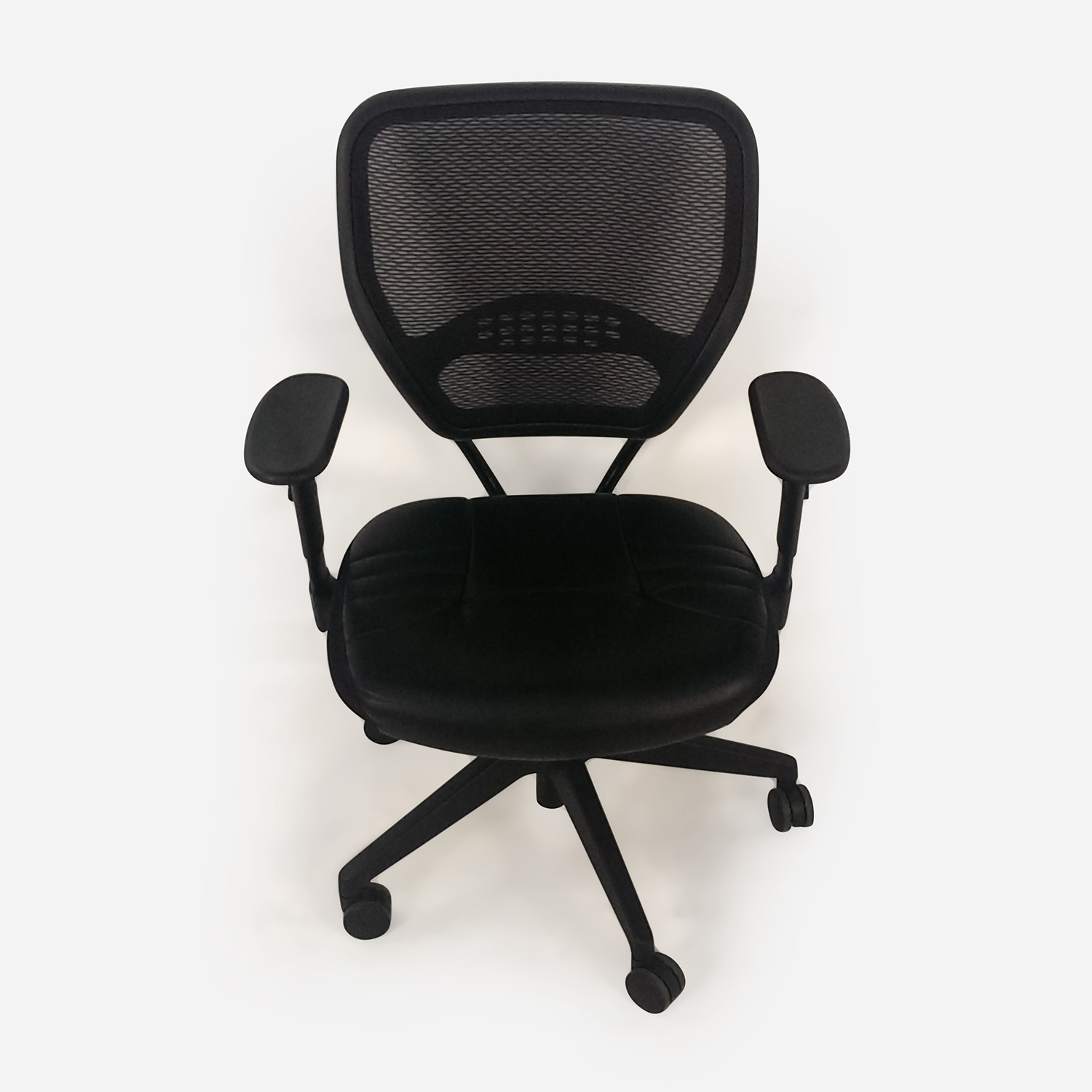 Black Leather Office Chair on sale