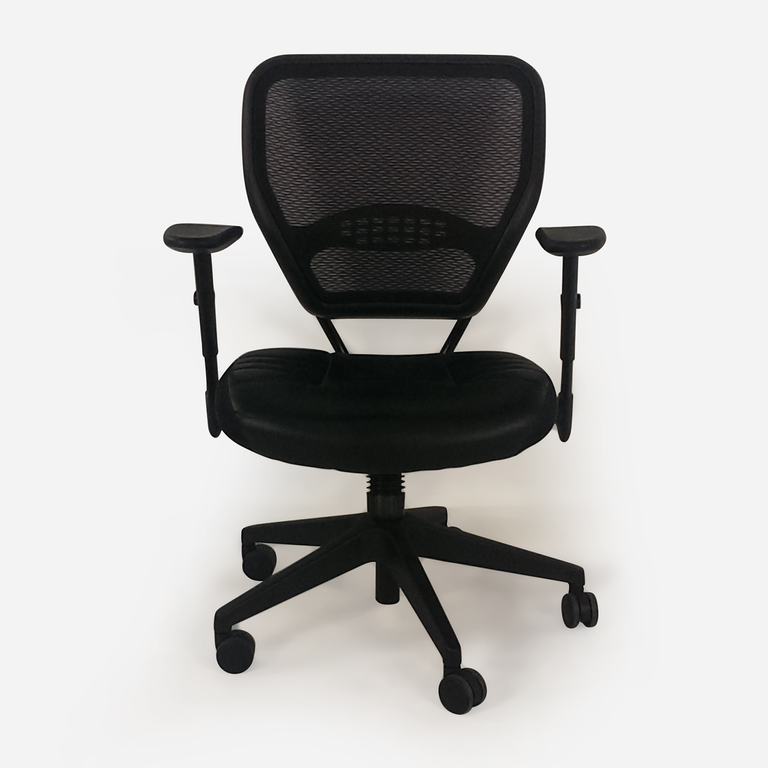 buy Black Leather Office Chair  Home Office Chairs