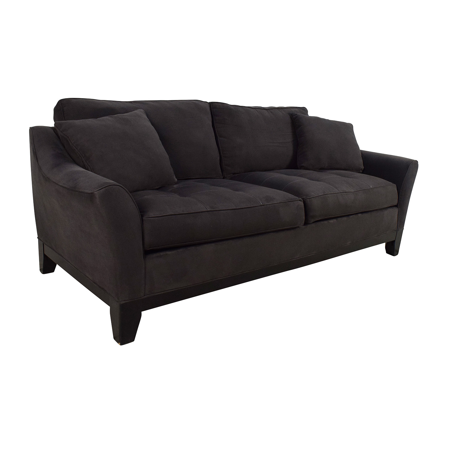 raymour and flanigan microfiber sofa. Black Bedroom Furniture Sets. Home Design Ideas