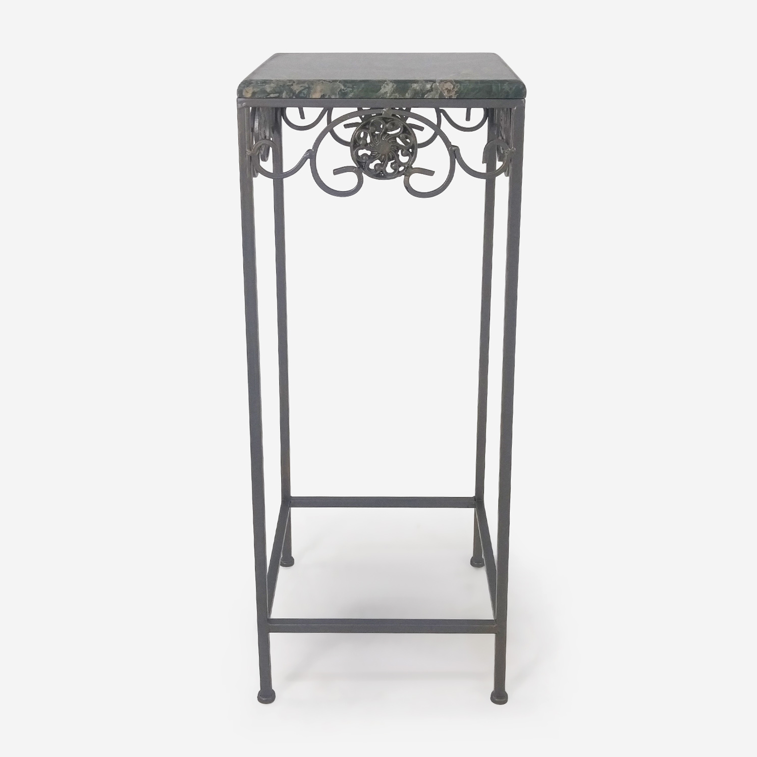 Marble Top Small Table Grey