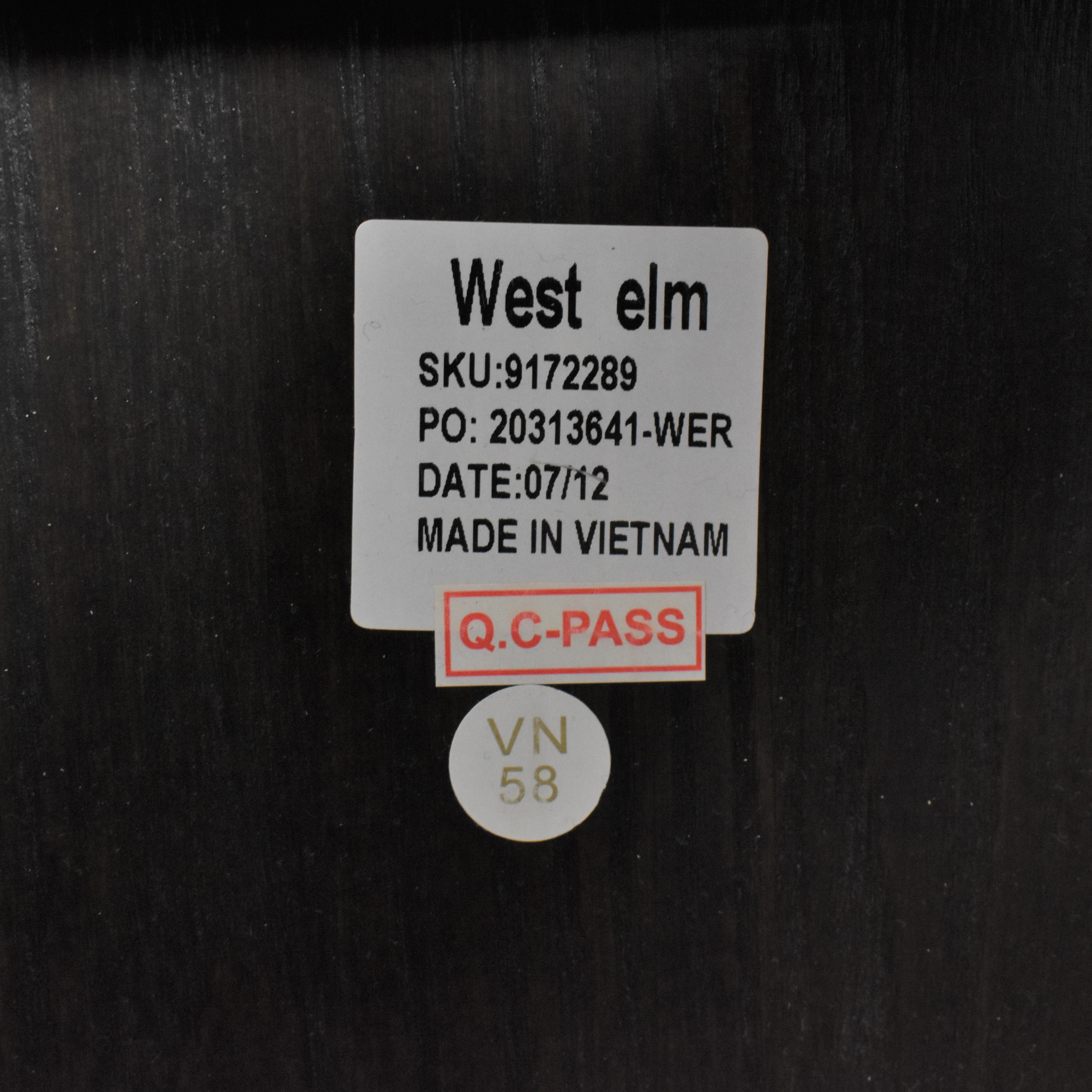 West Elm West Elm Queen Storage Bed with Nightstands discount