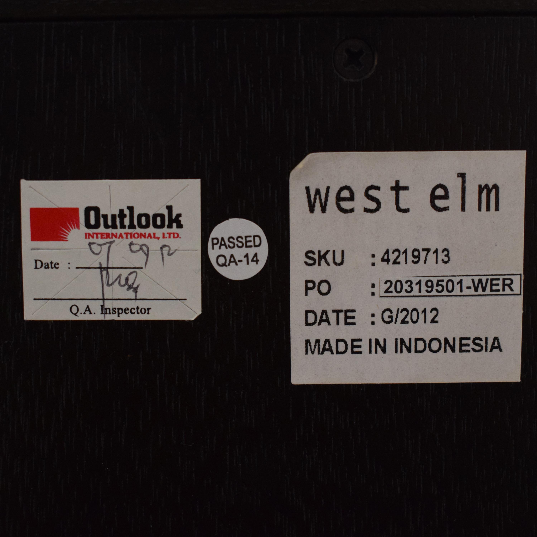 West Elm West Elm Square Cutout 6-Drawer Dresser ma