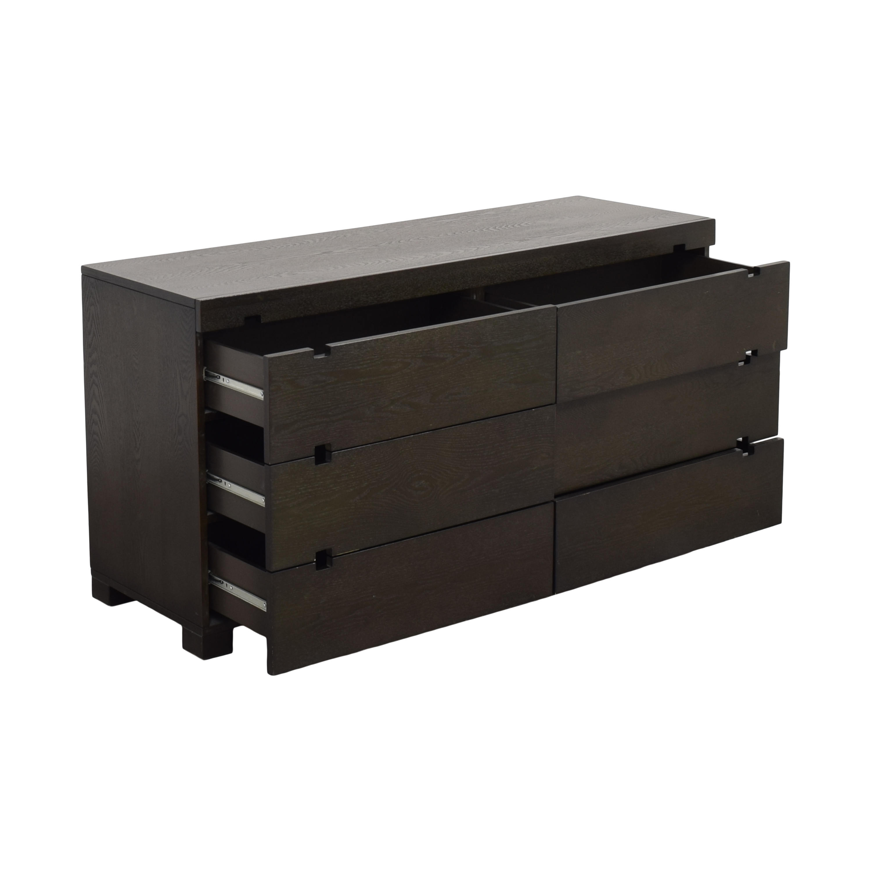 West Elm Square Cutout 6-Drawer Dresser West Elm