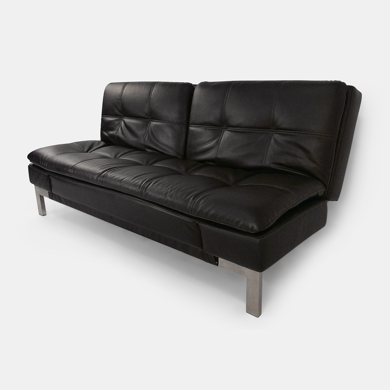 50 off expandable dark leather sofa sofas