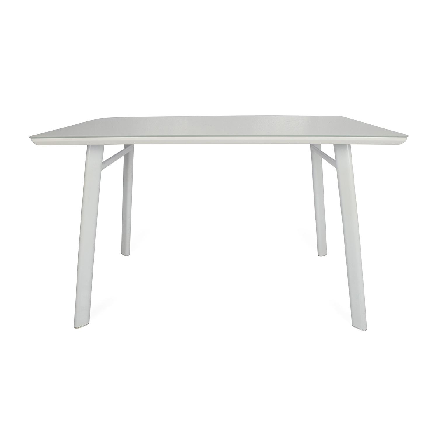 Modern White Dining Table second hand