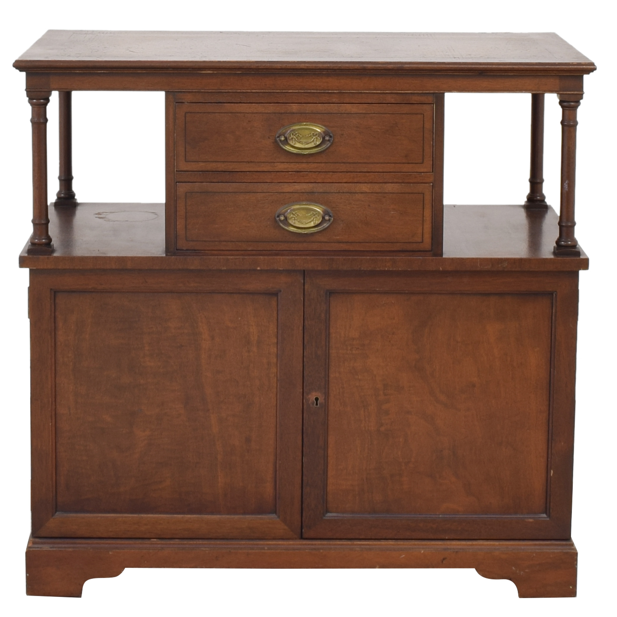Henredon Furniture Henredon Furniture Extending Cabinet pa