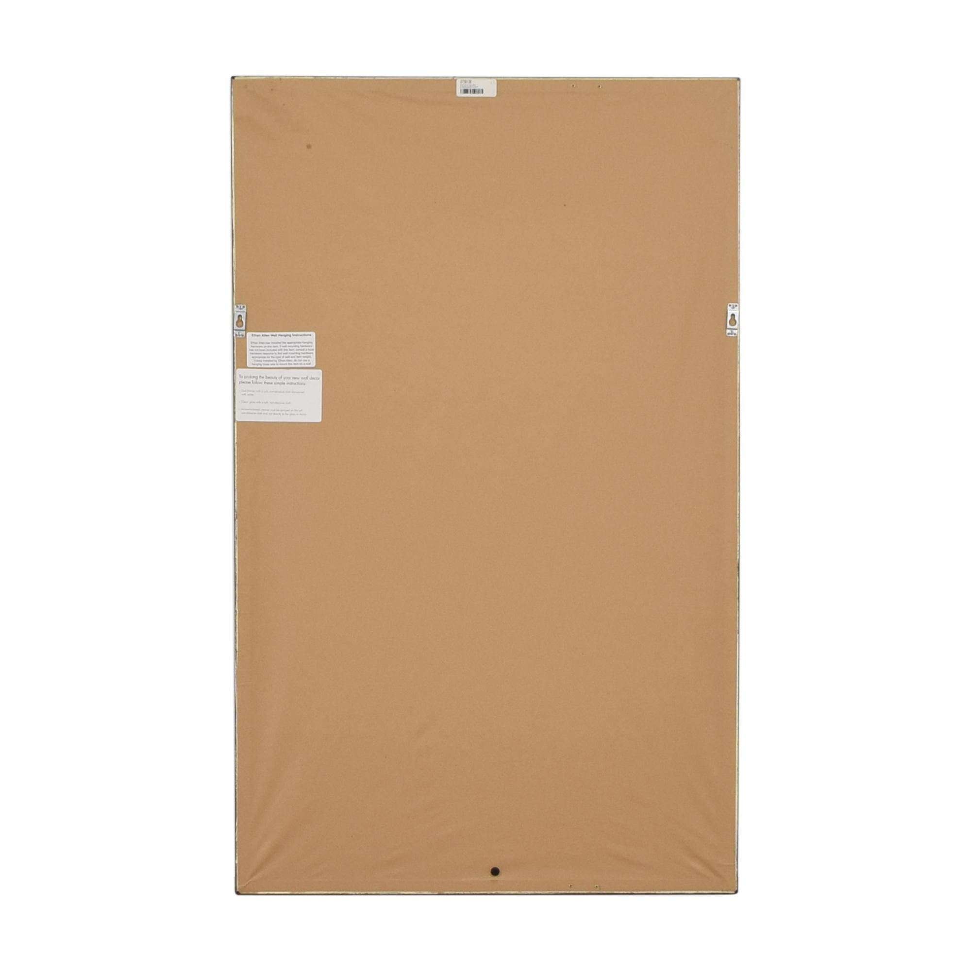 Ethan Allen Ethan Allen Mustard Paper Art dimensions