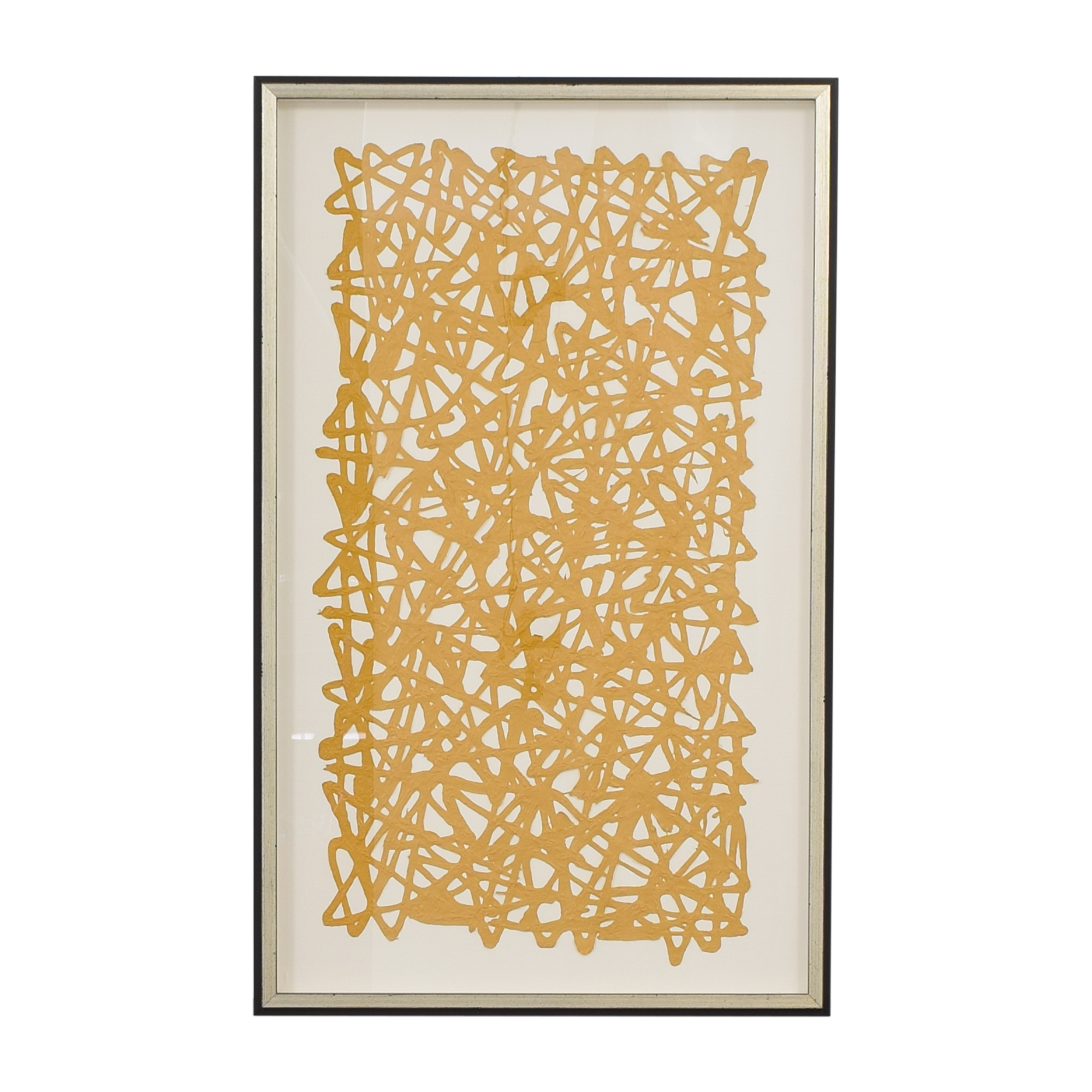 buy Ethan Allen Ethan Allen Mustard Paper Art online