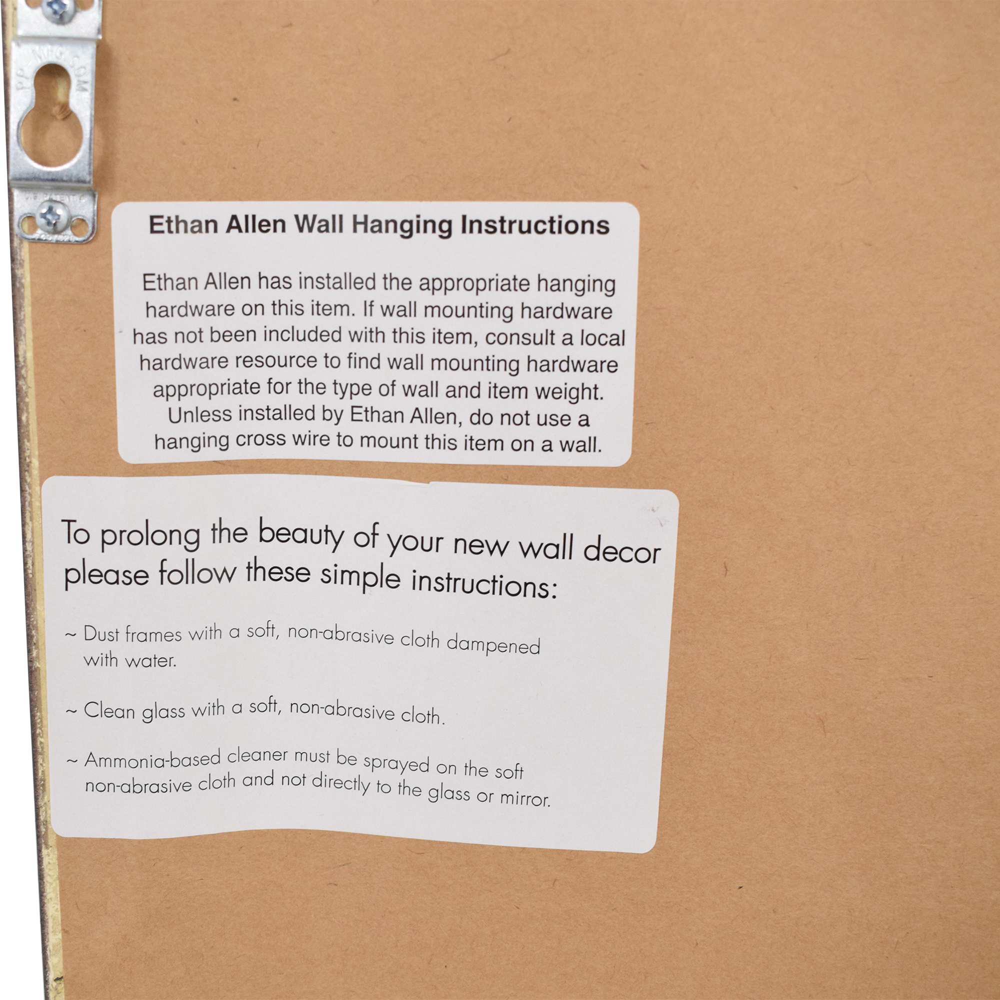 shop Ethan Allen Mustard Paper Art Ethan Allen Wall Art