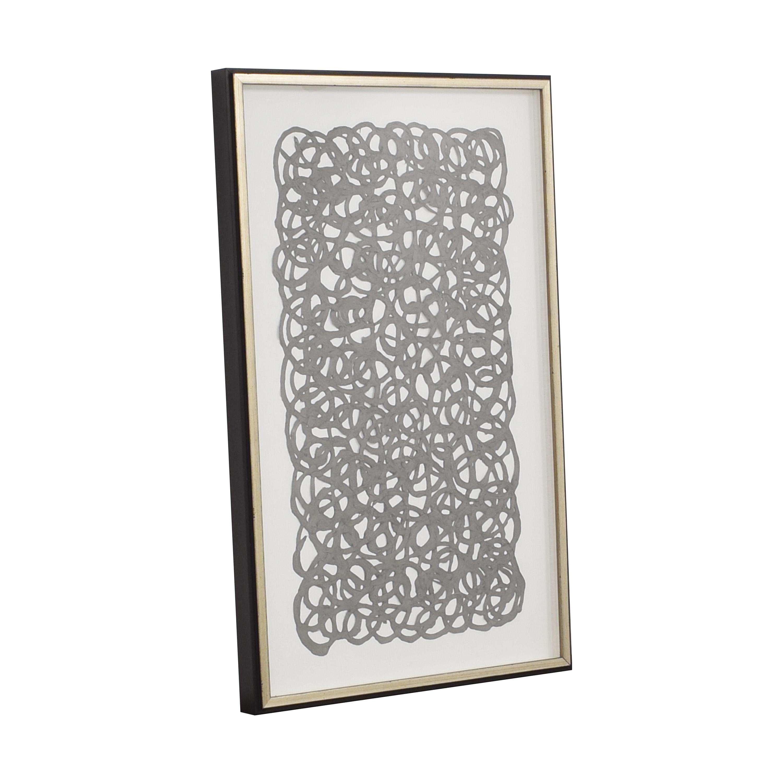 Ethan Allen Ethan Allen Grey Paper Art nj