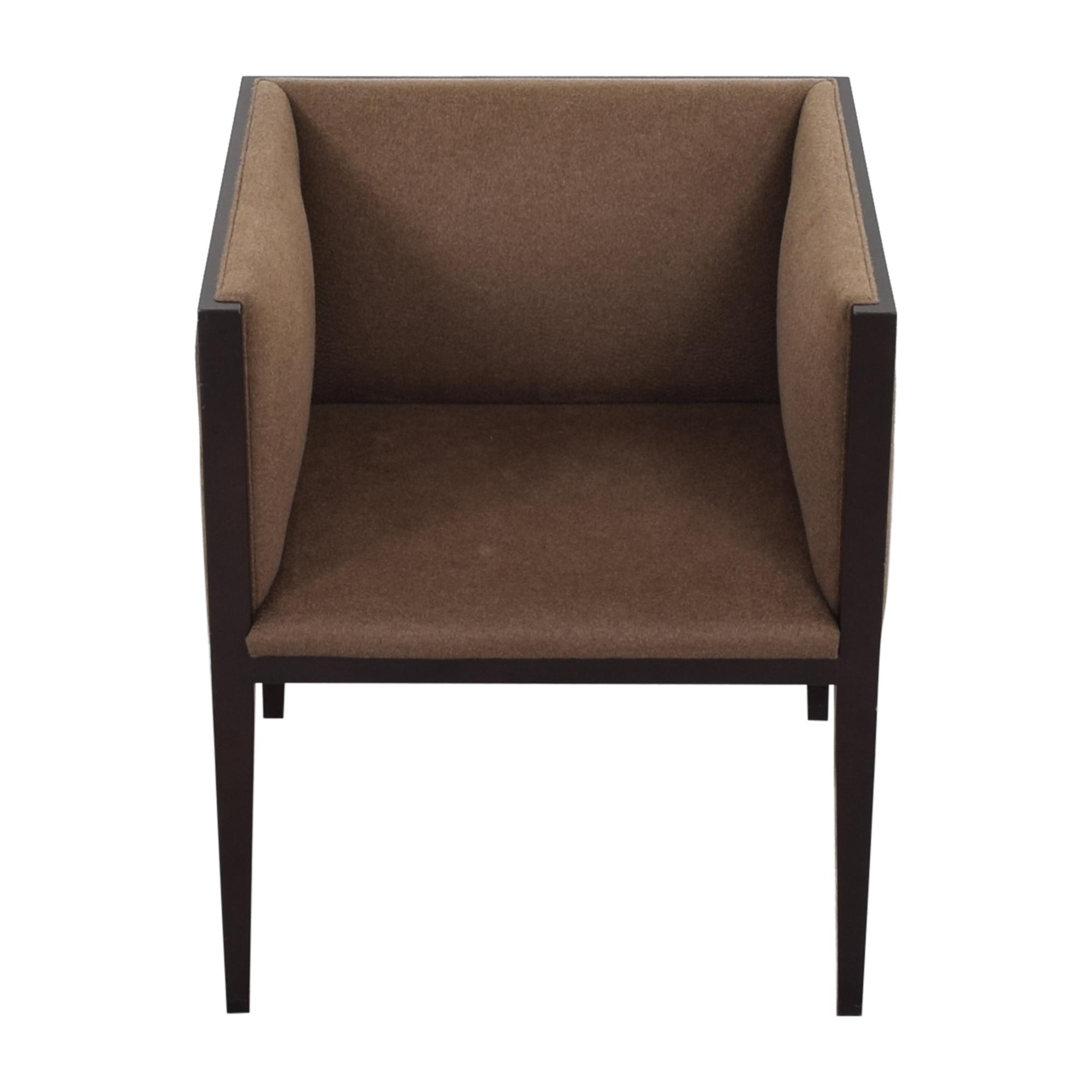 Hudson Furniture & Bedding Hudson Furniture & Bedding Tuxedo Accent Chair brown