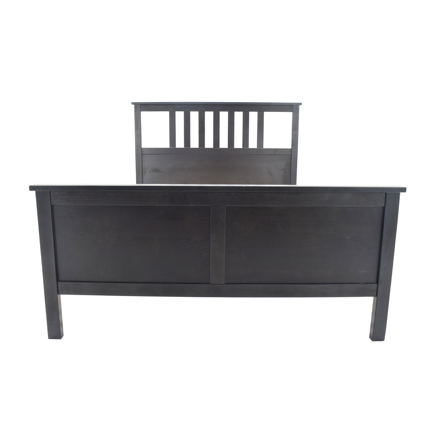 57 off ikea queen hemnes bed frame beds. Black Bedroom Furniture Sets. Home Design Ideas