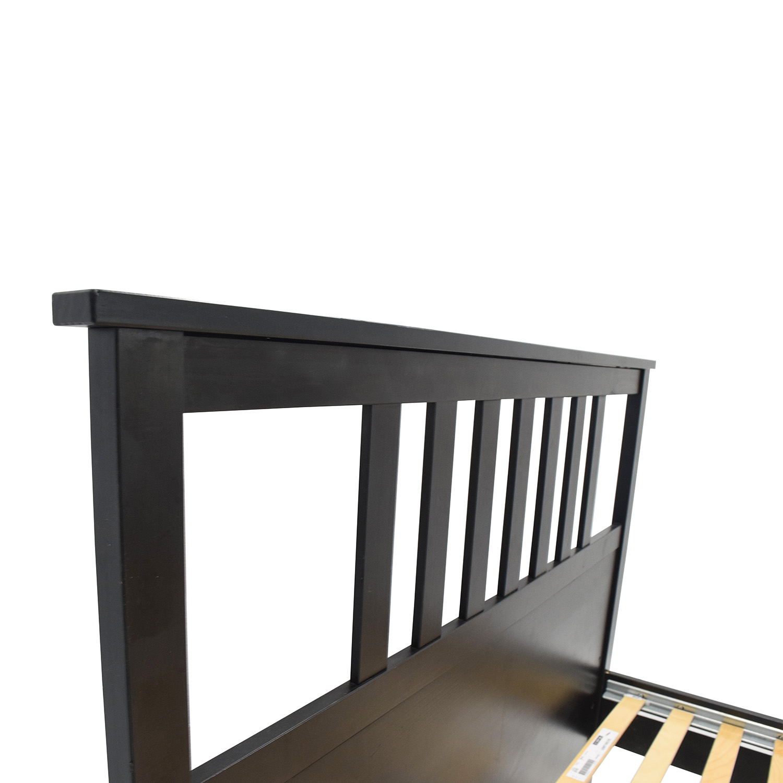 buy queen hemnes bed frame ikea beds - Hemnes Bed Frame