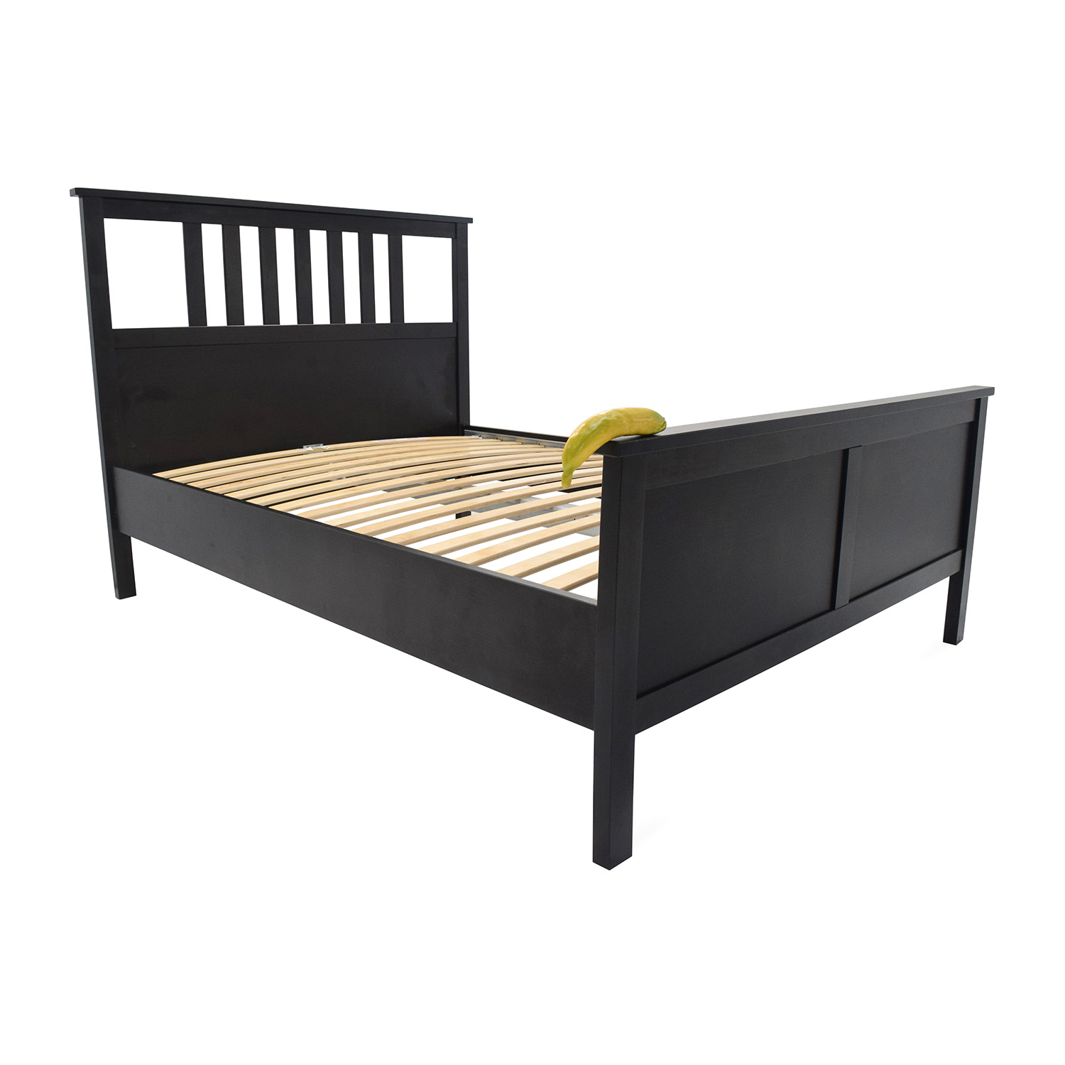 57 off ikea queen hemnes bed frame beds for Queen size bed ikea