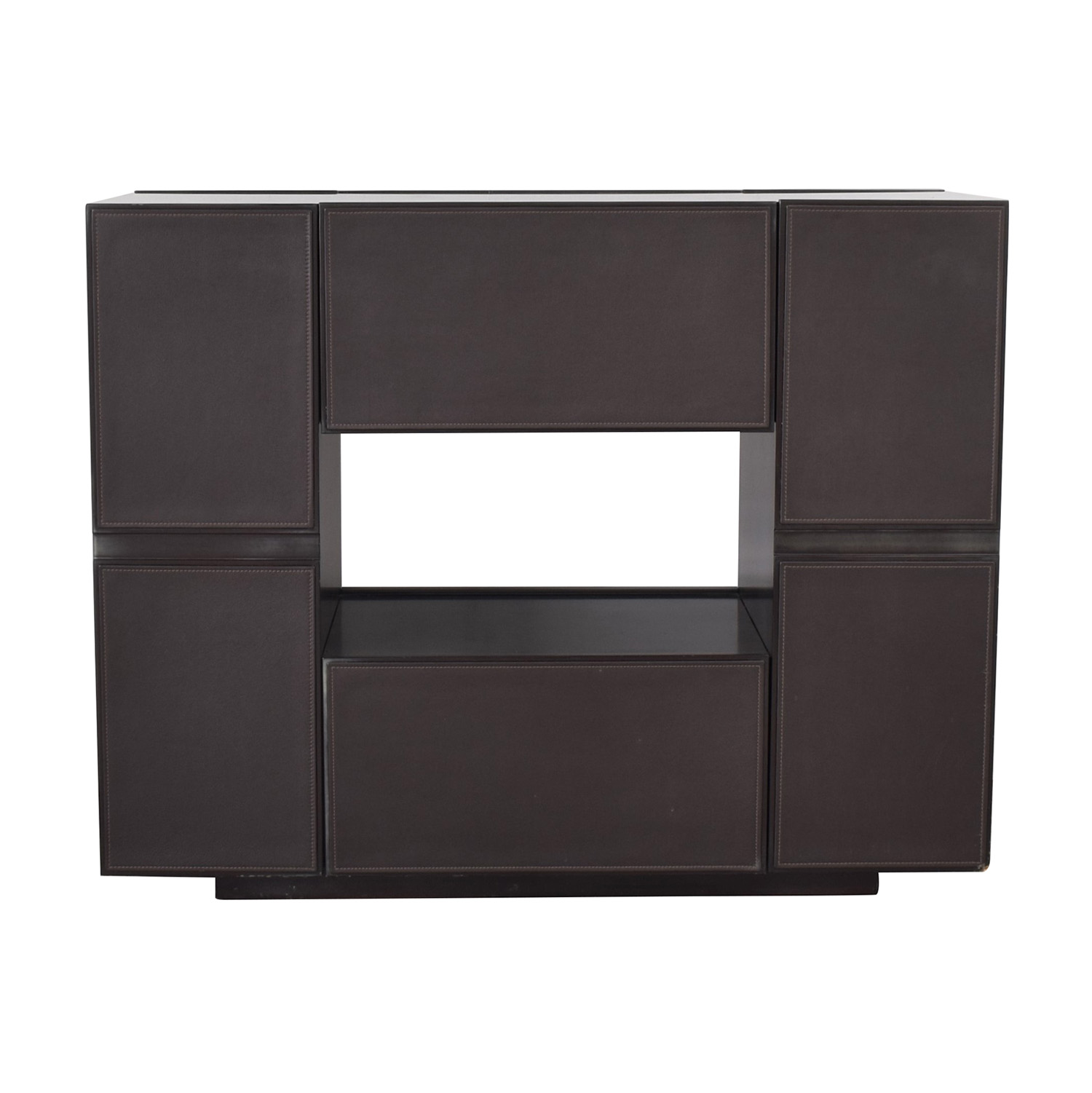 Moura Starr Moura Starr Bar Cabinet dark brown