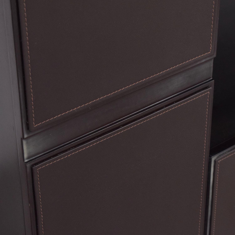 Moura Starr Moura Starr Bar Cabinet dark brown
