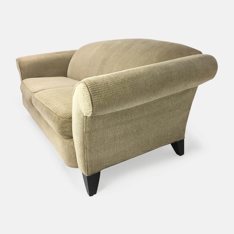 88 off designer beige cream sofa sofas. Black Bedroom Furniture Sets. Home Design Ideas