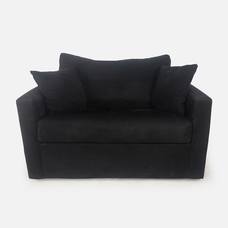 Bob's Discount Furniture Bobs Furniture Loveseat with Hideaway Bed Frame nj
