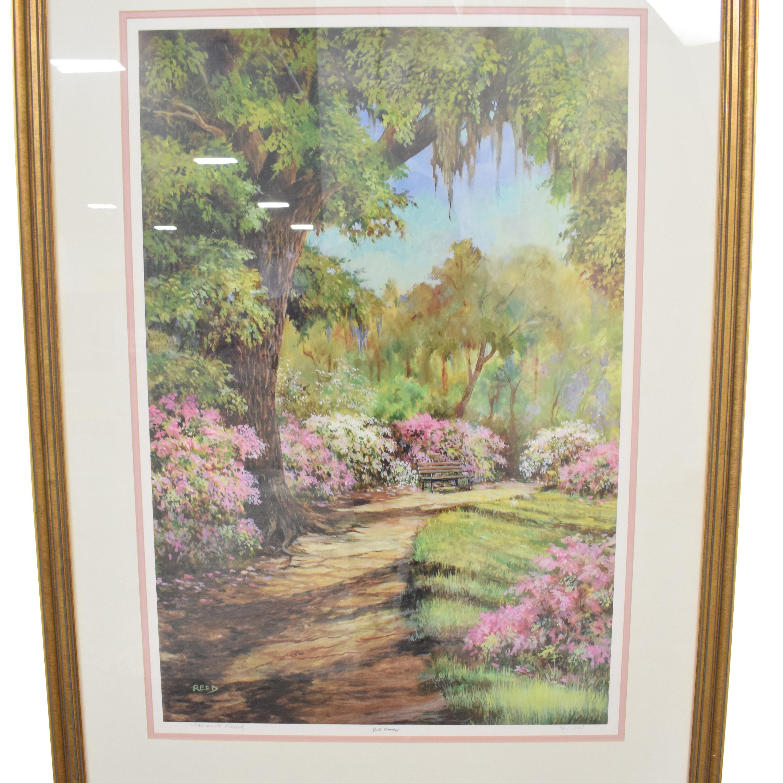 April Morning Framed Wall Art dimensions