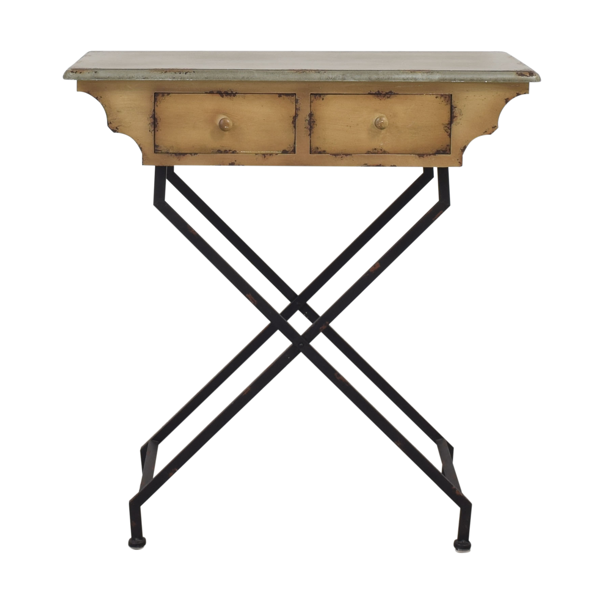 buy Peter Andrews Distressed Spider Leg Table Peter Andrews