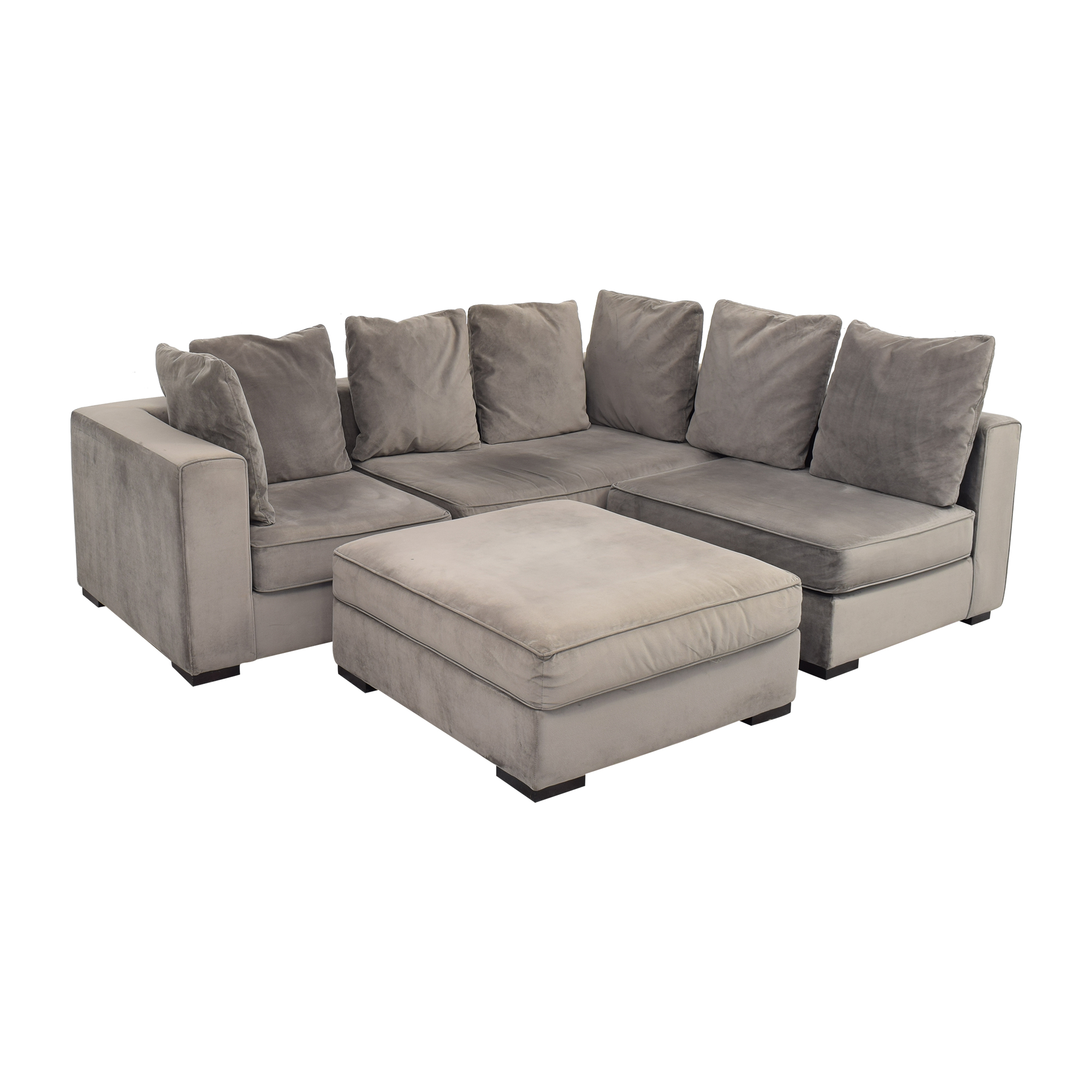 West Elm West Elm 3-Piece Sectional with Ottoman Sofas