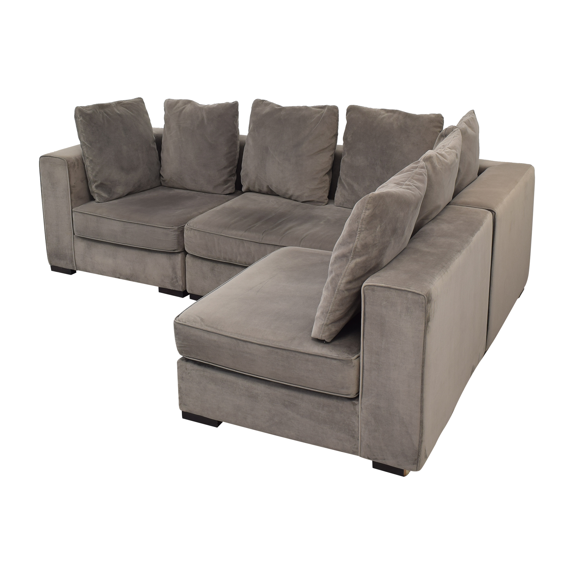 West Elm West Elm 3-Piece Sectional with Ottoman coupon