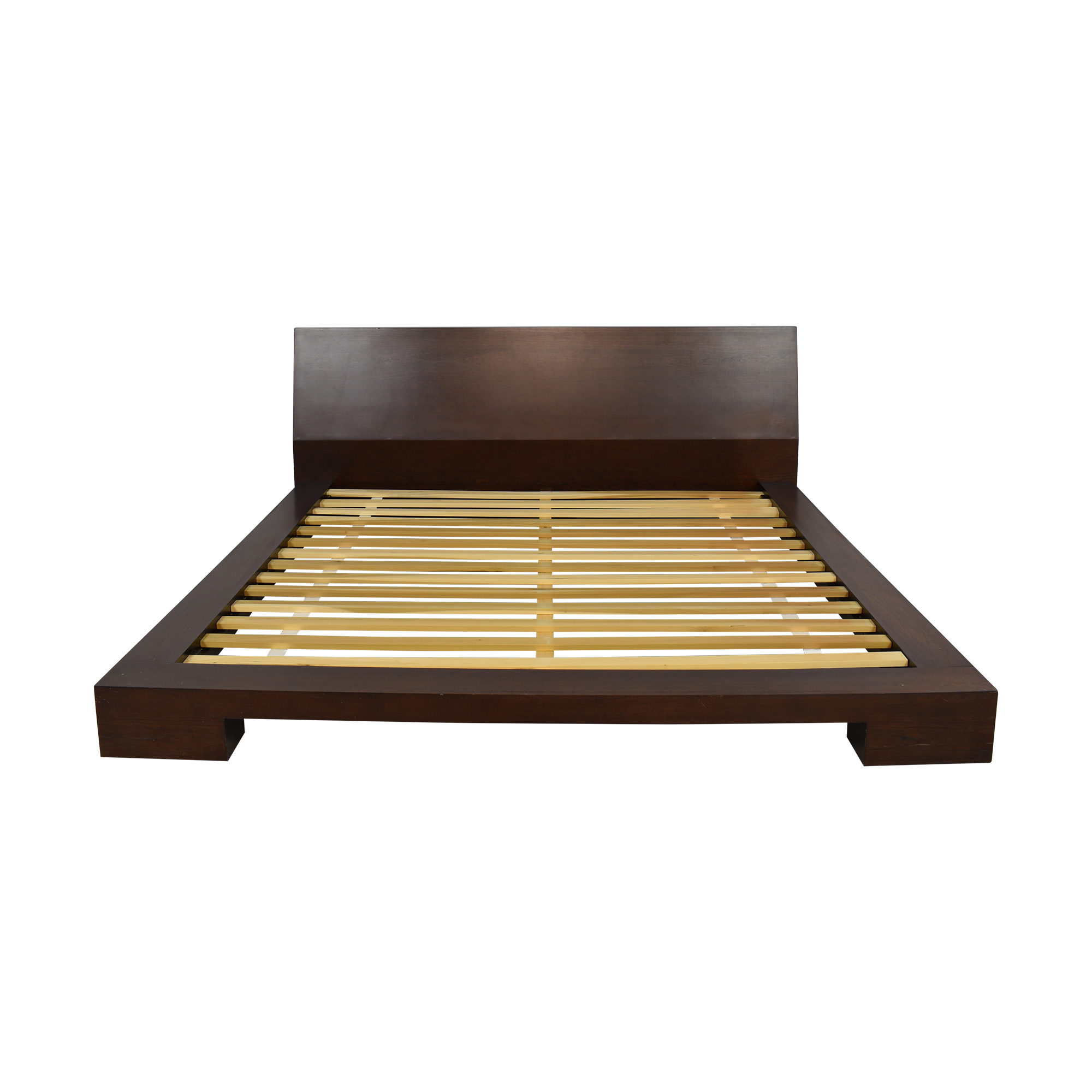 shop Crate & Barrel Asher King Bed Crate & Barrel Beds