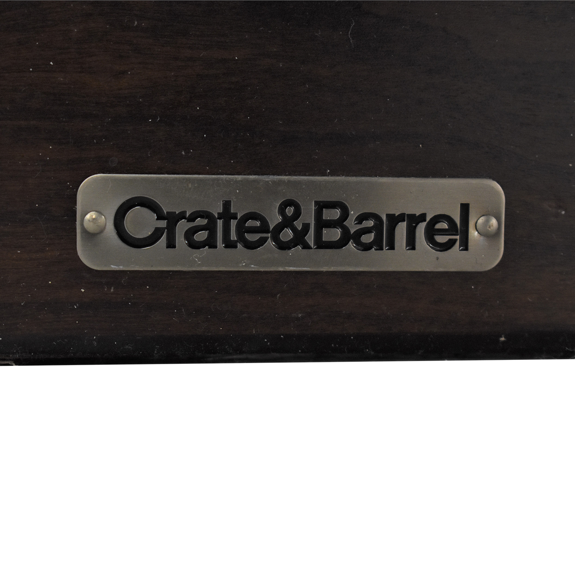 Crate & Barrel Crate & Barrel Asher King Bed brown
