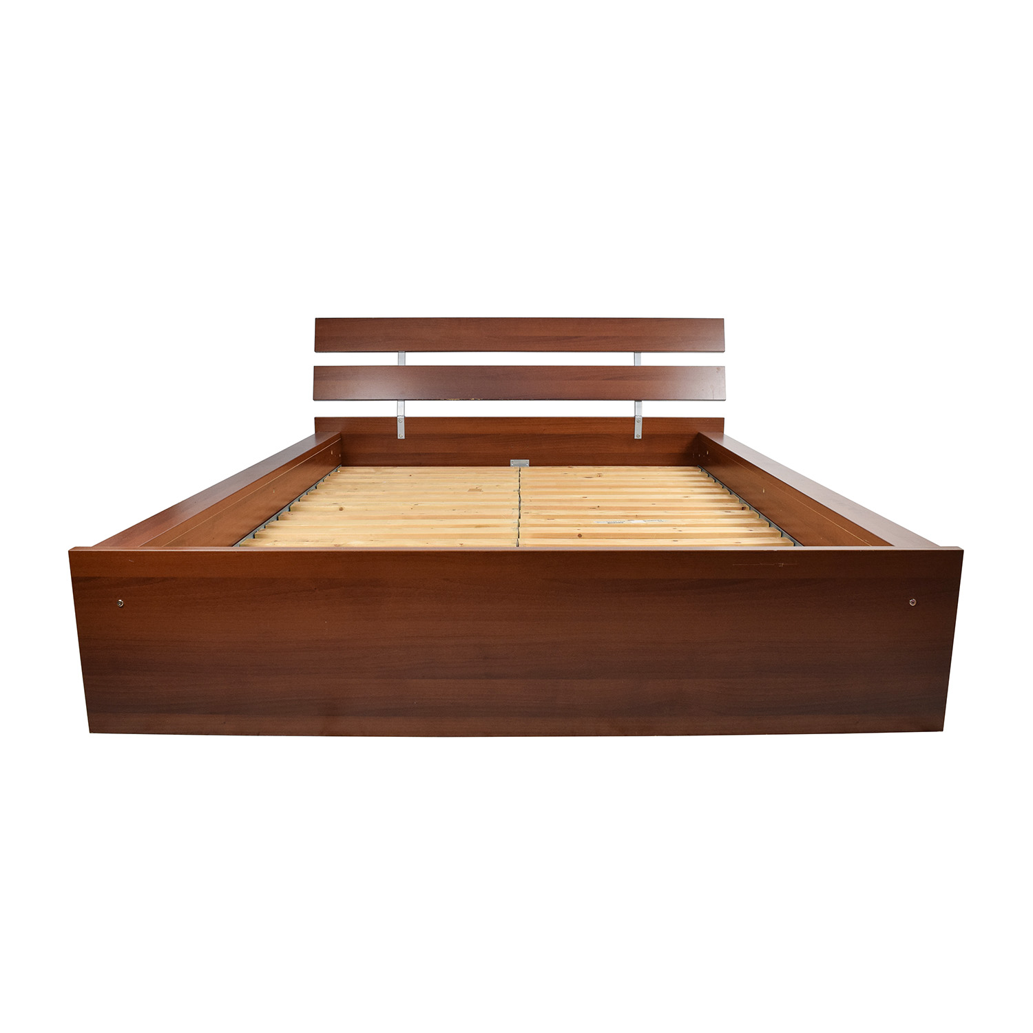 IKEA IKEA Brown Queen Bed Frame on sale