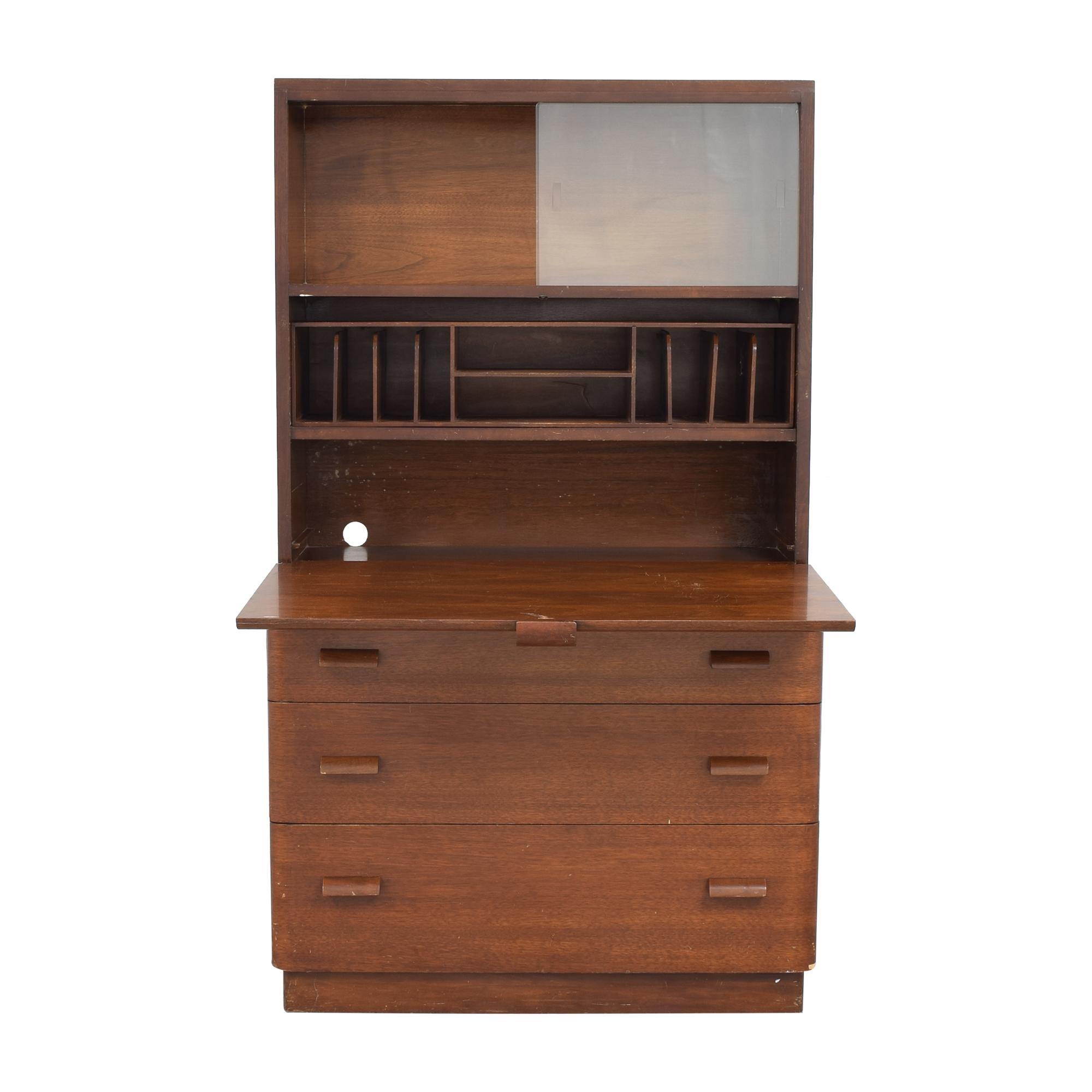 Castle Furniture Castle Furniture Vintage Secretary Desk pa
