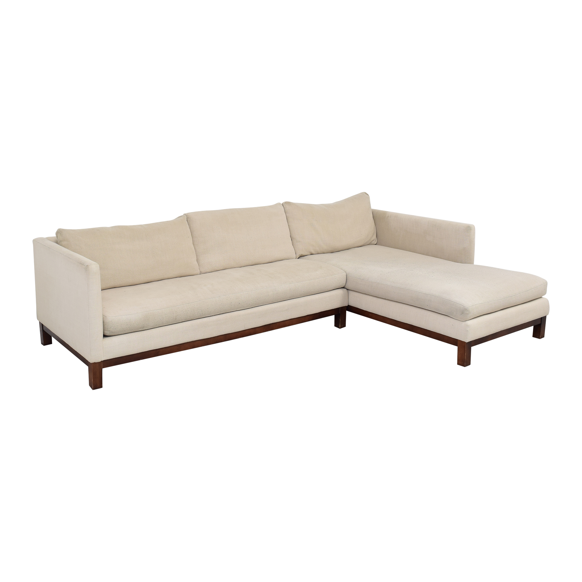 buy ABC Carpet & Home Cobble Hill Sectional Sofa ABC Carpet & Home Sectionals