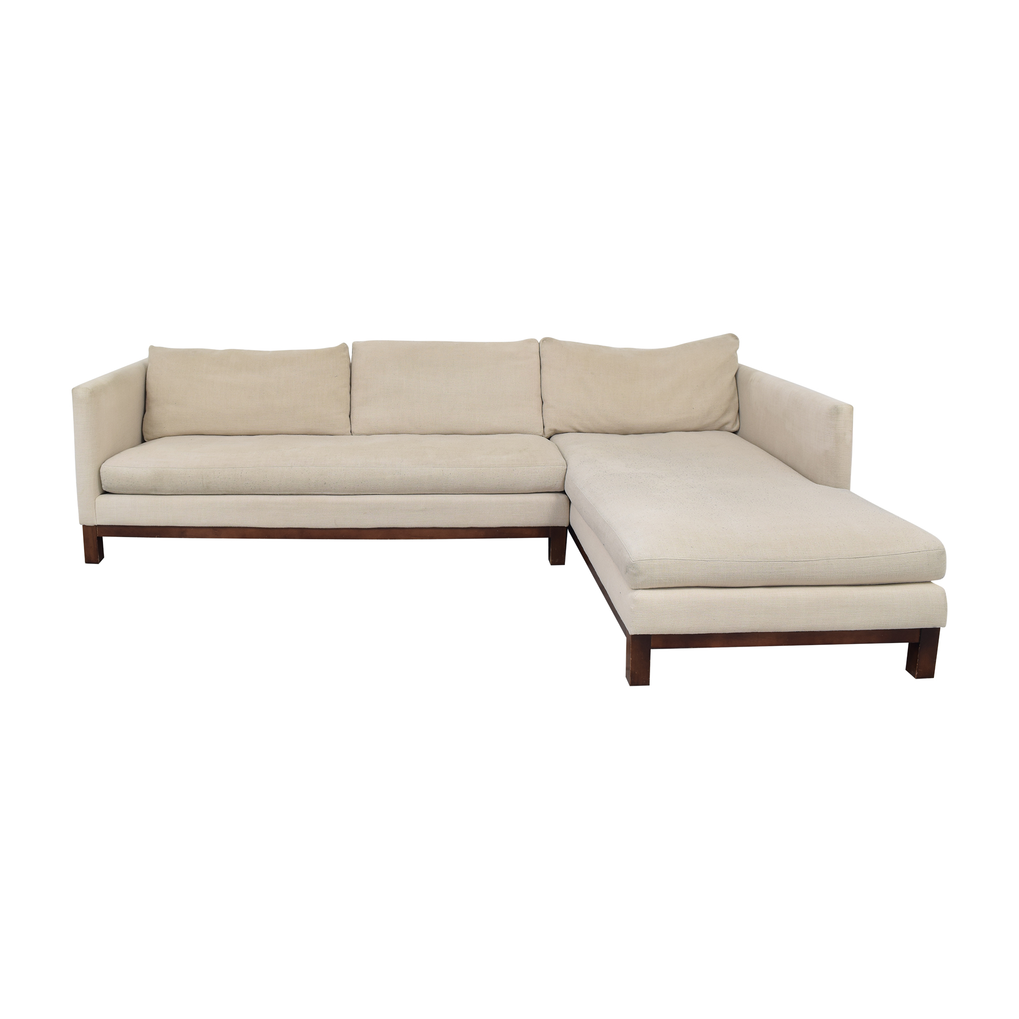 shop ABC Carpet & Home Cobble Hill Sectional Sofa ABC Carpet & Home Sofas