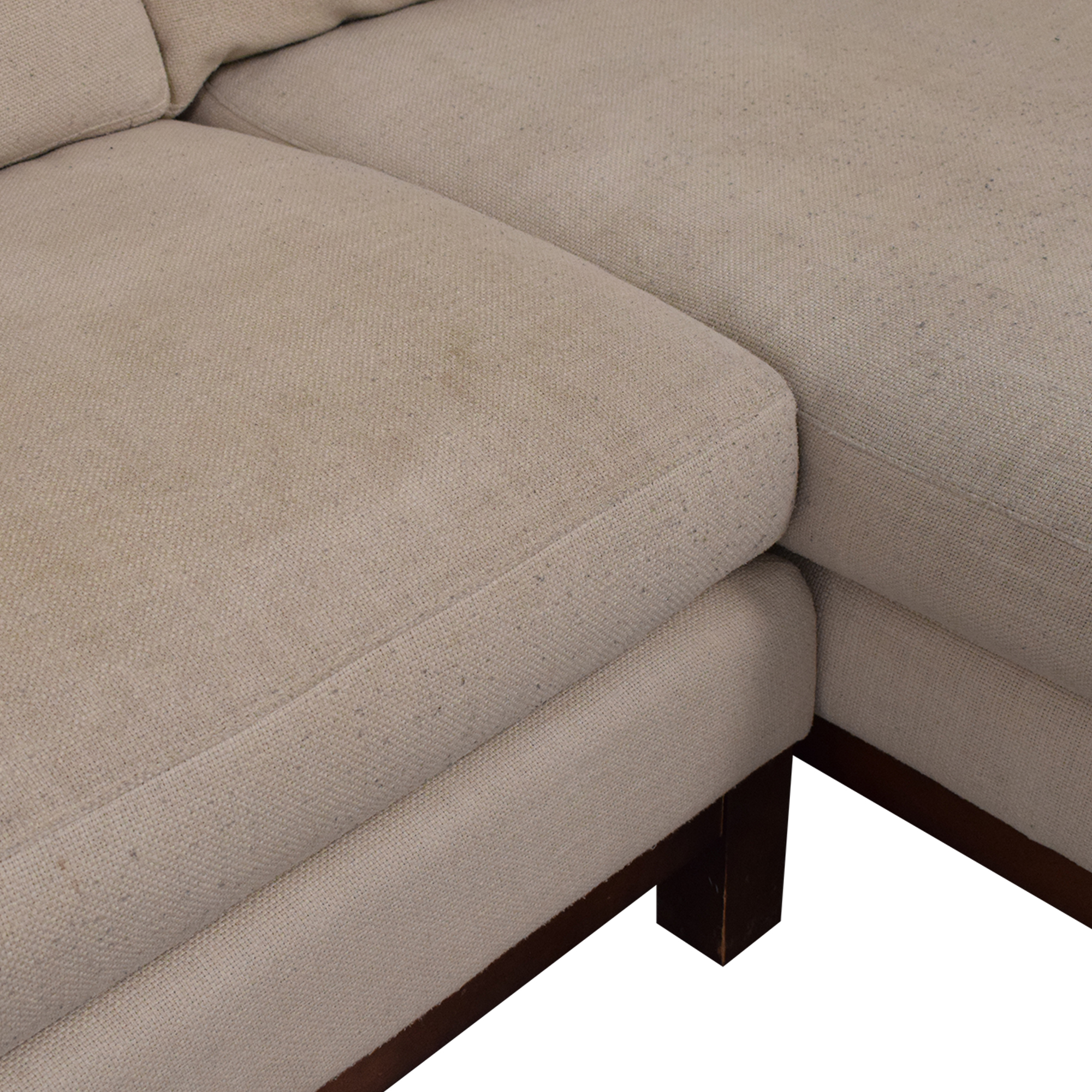 ABC Carpet & Home ABC Carpet & Home Cobble Hill Sectional Sofa Sectionals