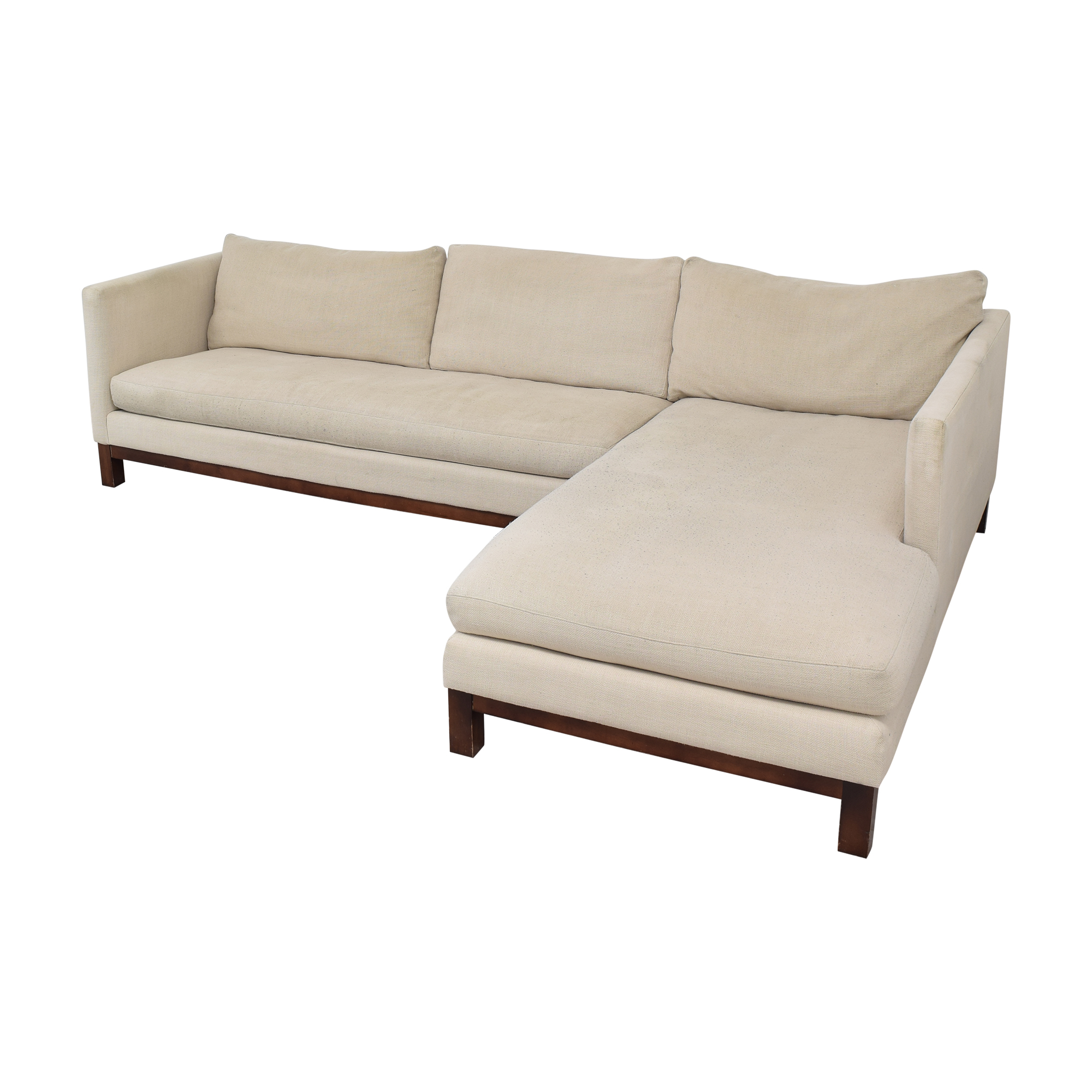 ABC Carpet & Home ABC Carpet & Home Cobble Hill Sectional Sofa ct