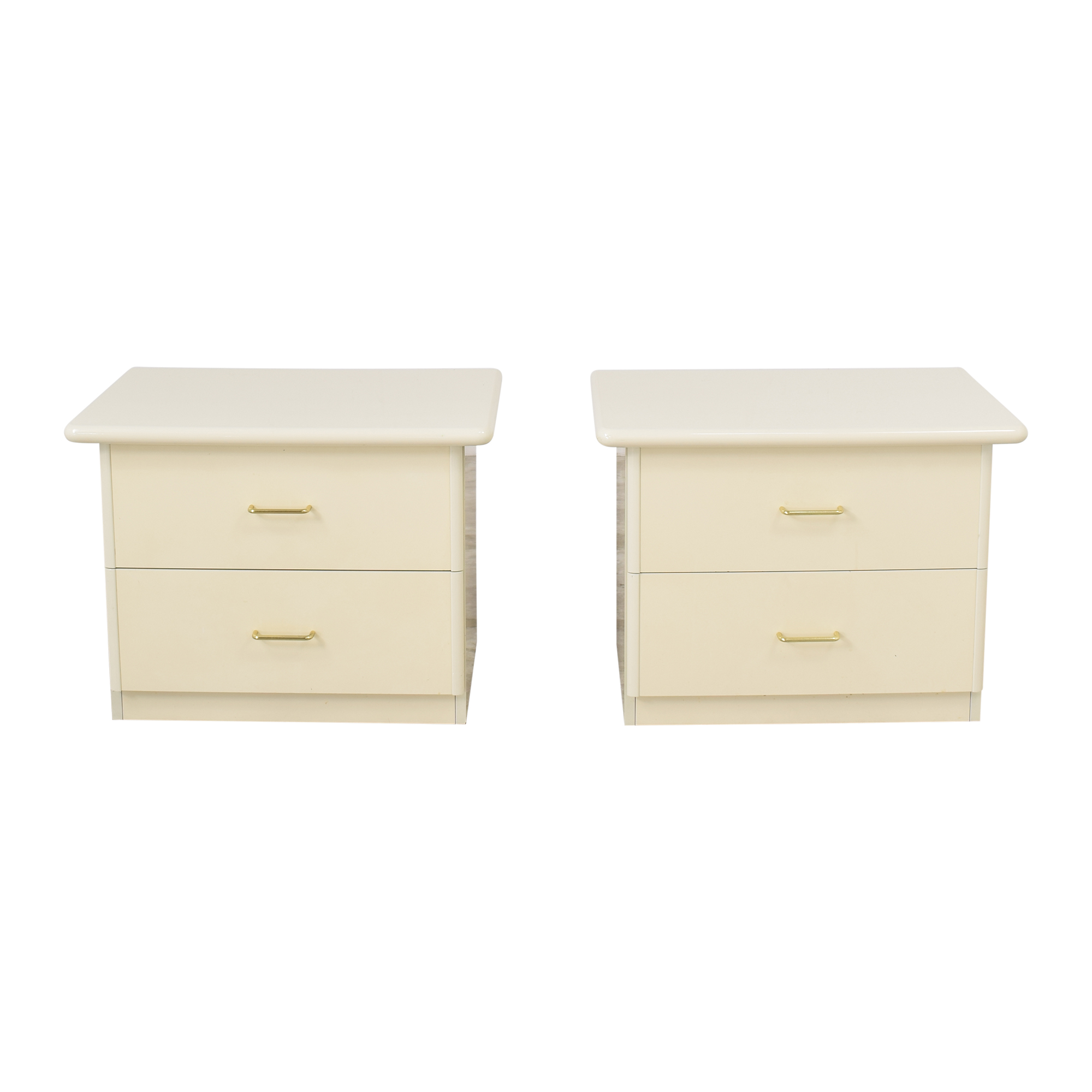 Seamans Seamans Two Drawer Nightstands ma