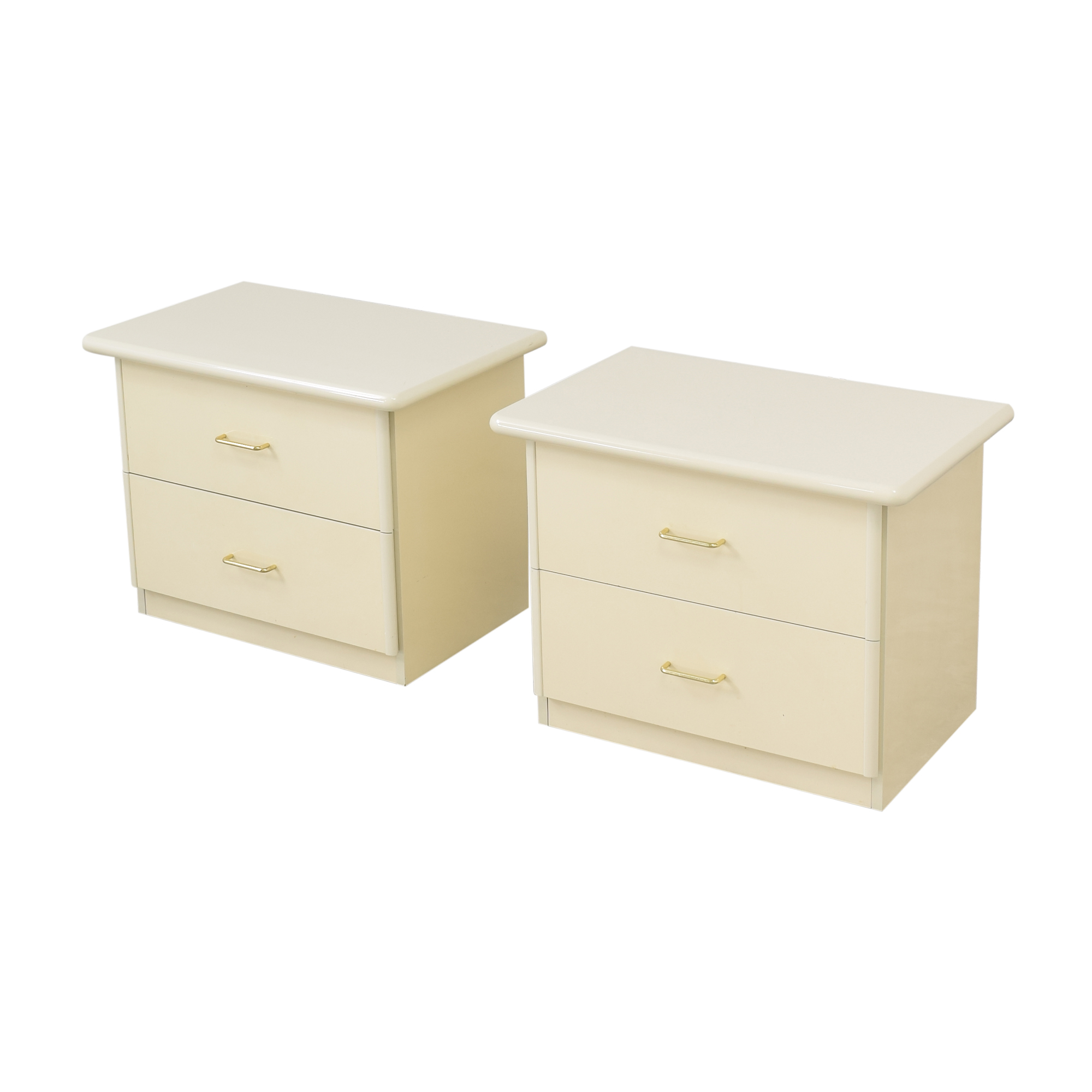 Seamans Seamans Two Drawer Nightstands used