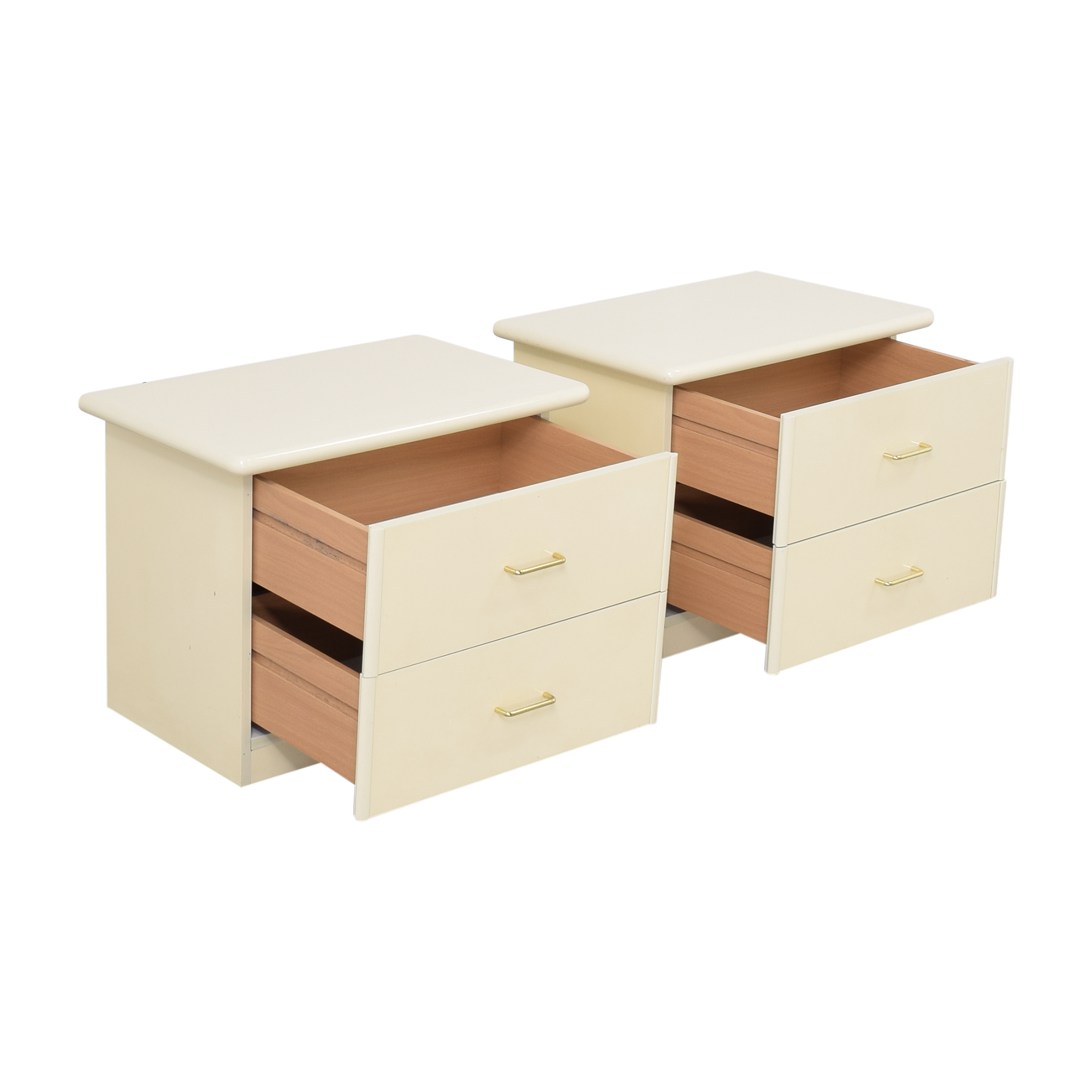 Seamans Seamans Two Drawer Nightstands Tables