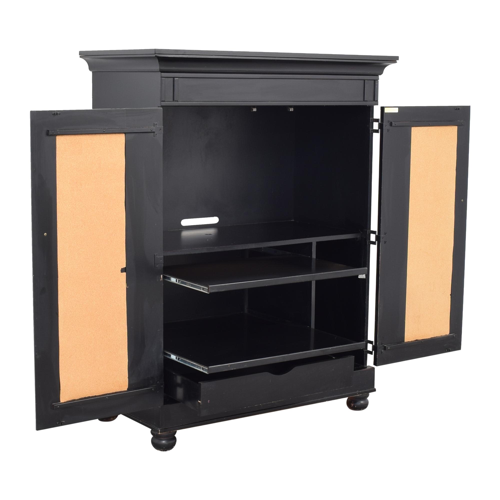 Riverside Furniture Riverside Computer Armoire ma