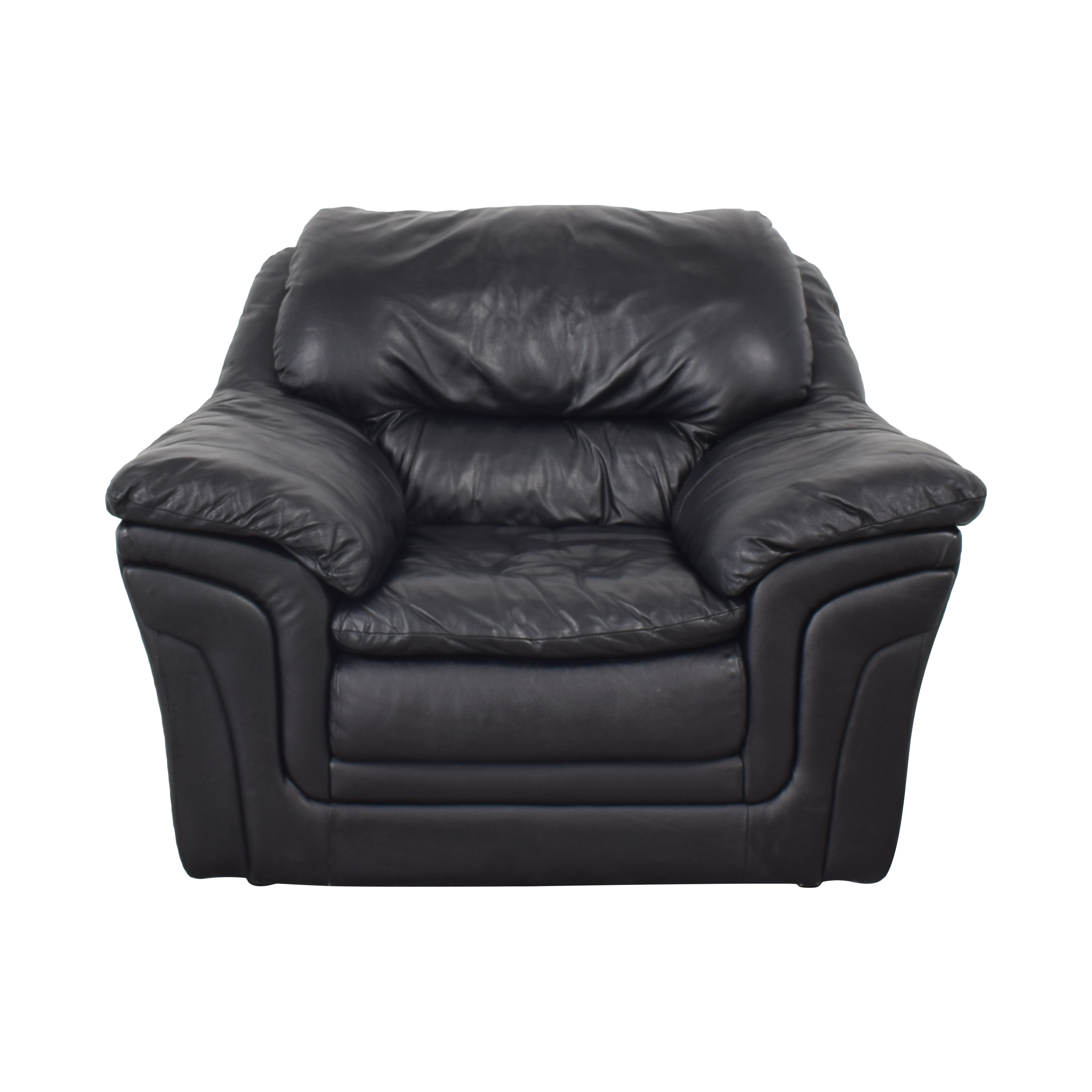 shop Soft Line SpA Chair with Ottoman Soft Line SpA