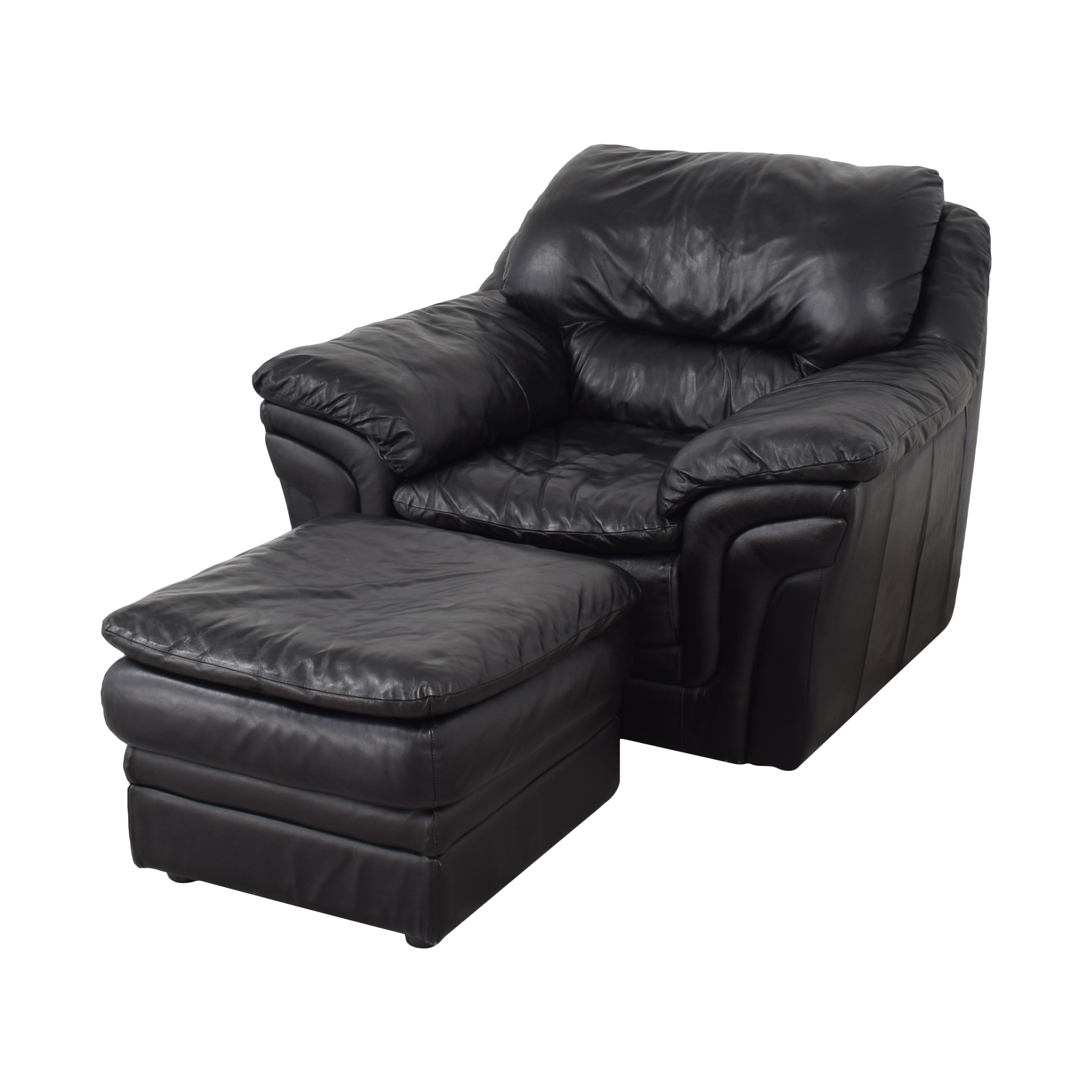 Soft Line SpA Soft Line SpA Chair with Ottoman ct