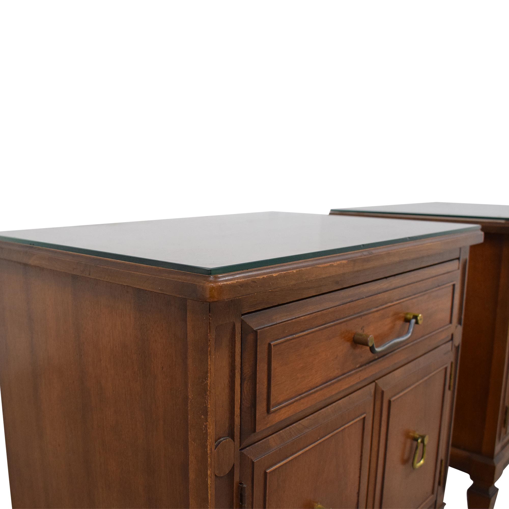 buy Huntley Vintage Single Drawer Nightstands Huntley End Tables