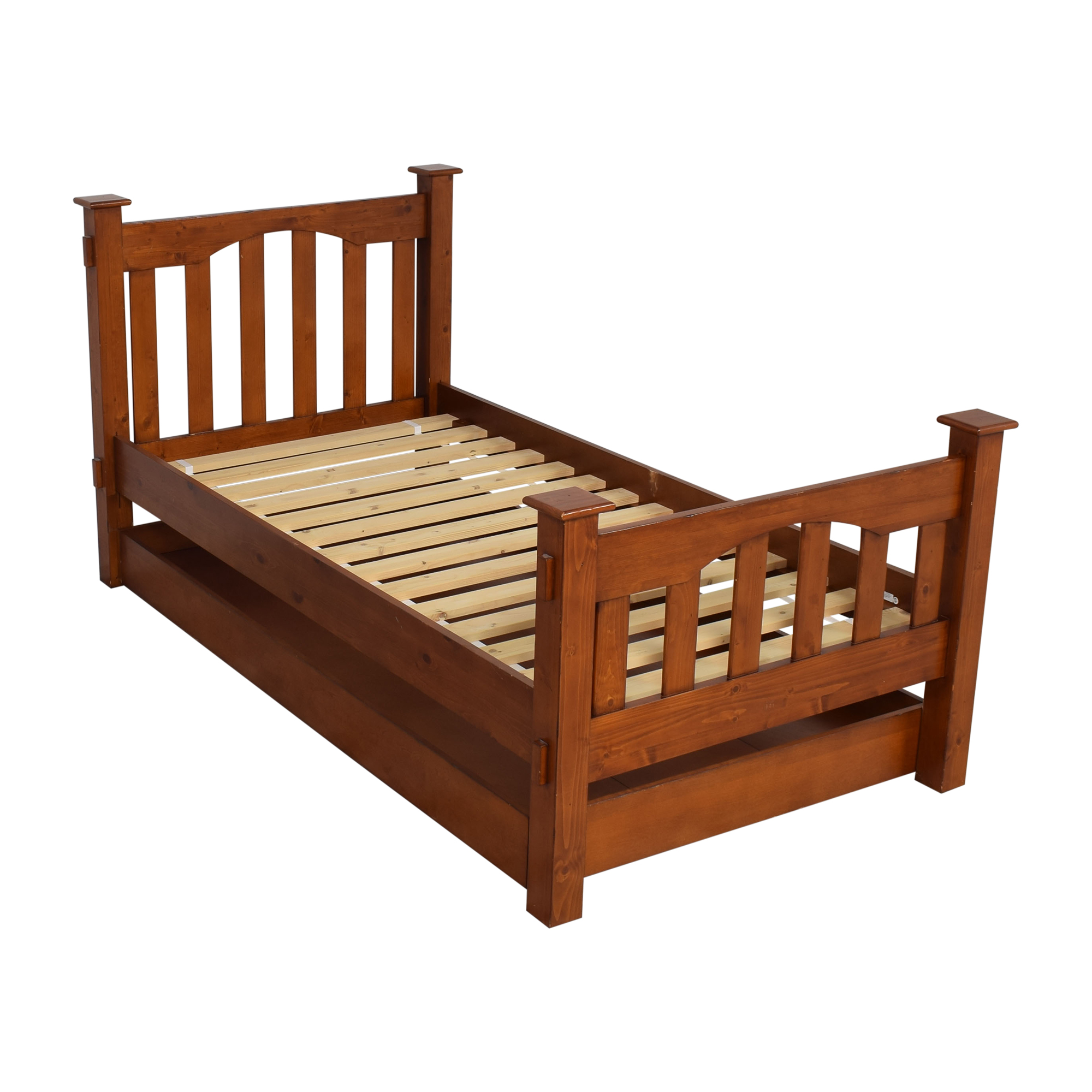 Pottery Barn Kids Pottery Barn Kids Kendall Twin Bed and Trundle discount